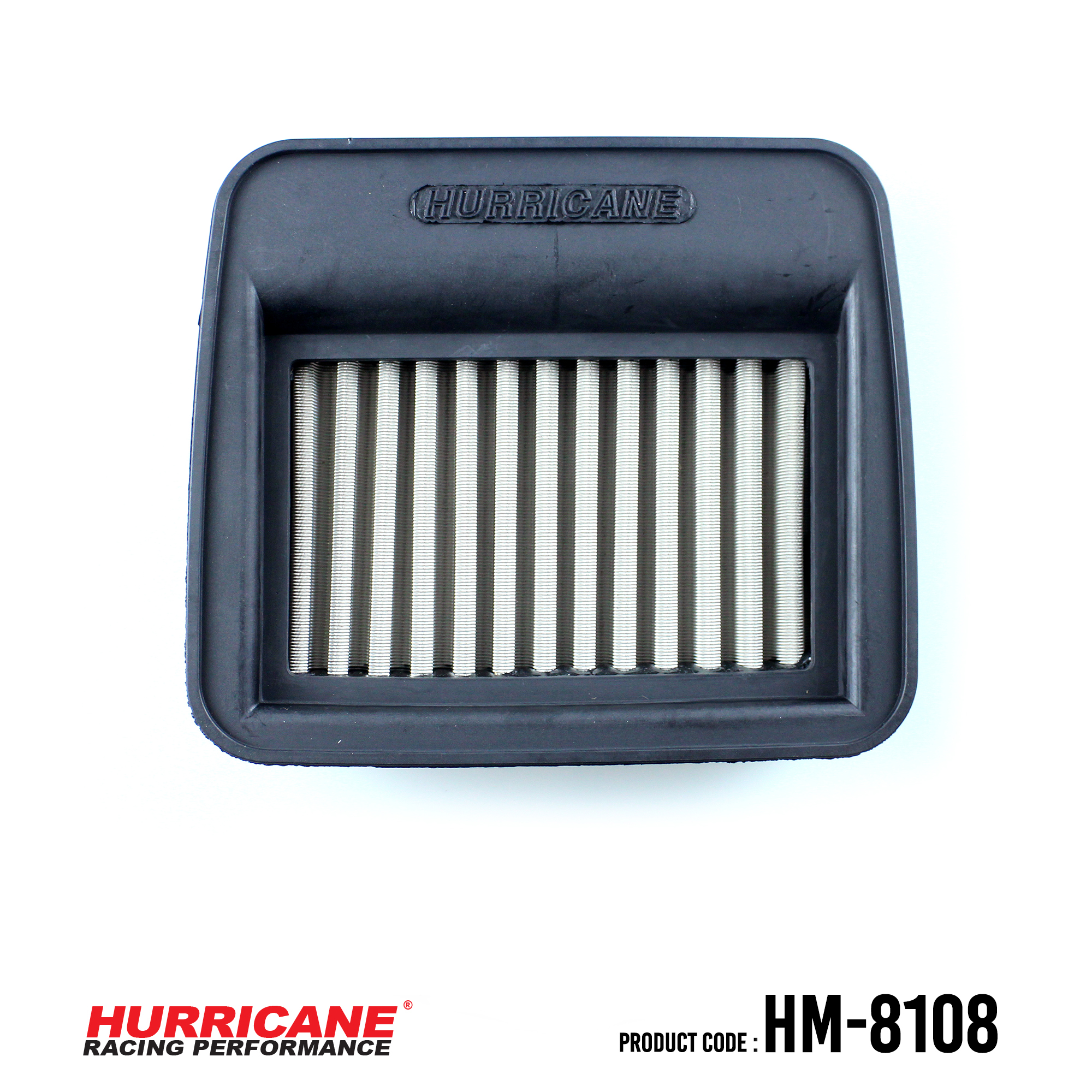 HURRICANE STAINLESS STEEL AIR FILTER FOR HM-8108 Yamaha