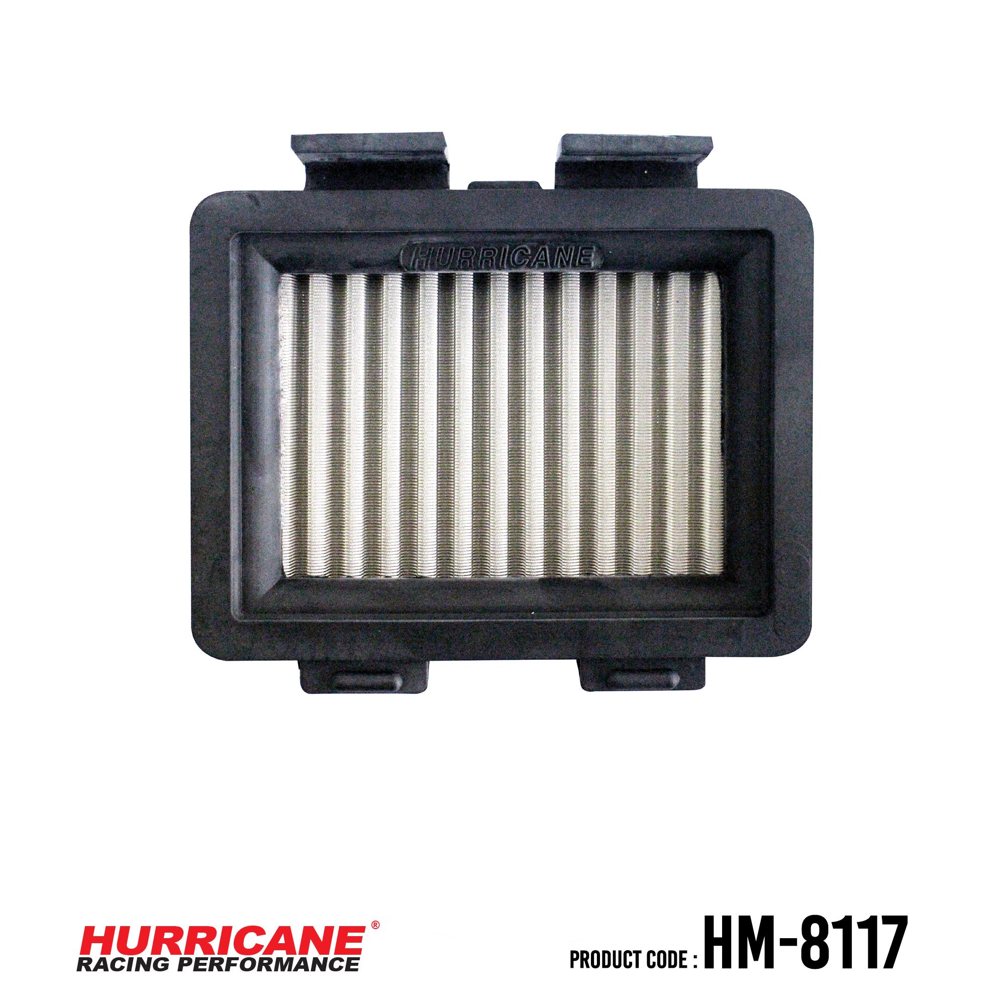 HURRICANE STAINLESS STEEL AIR FILTER FOR HM-8117 Honda
