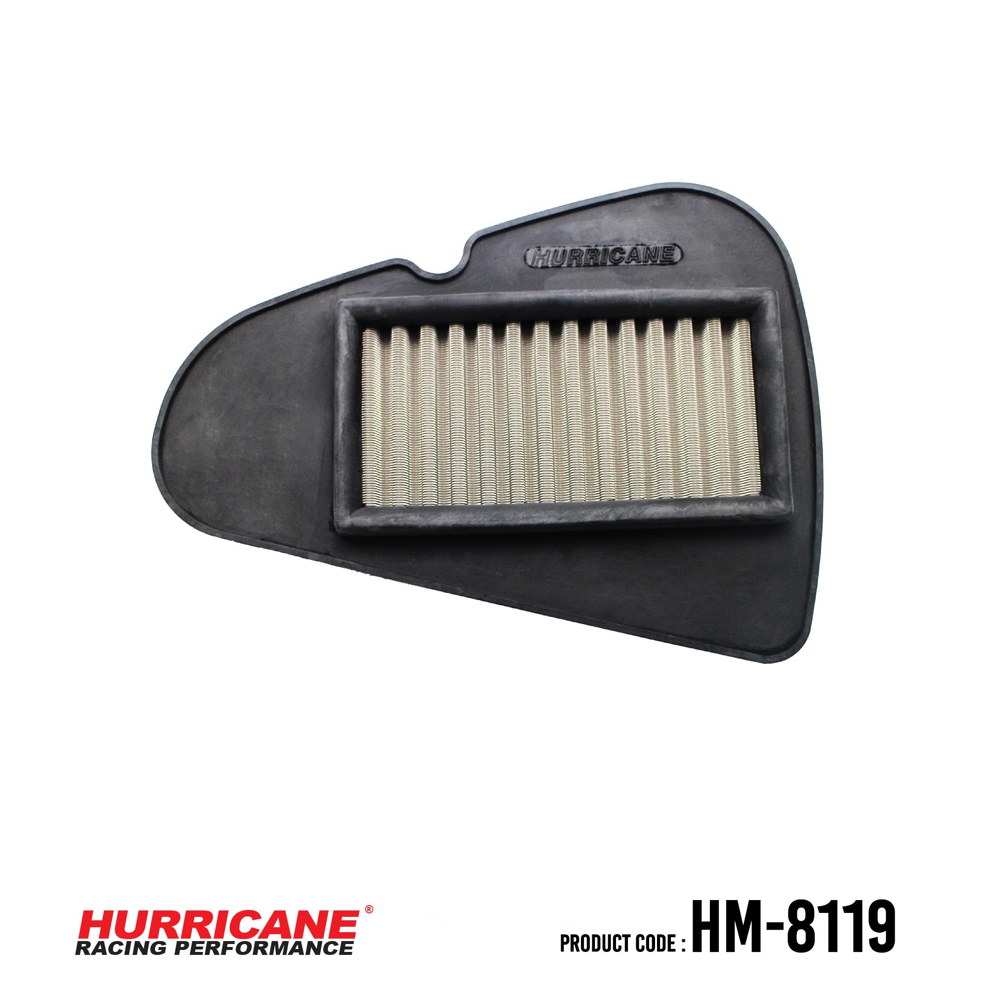 HURRICANE STAINLESS STEEL AIR FILTER FOR HM-8119 Honda