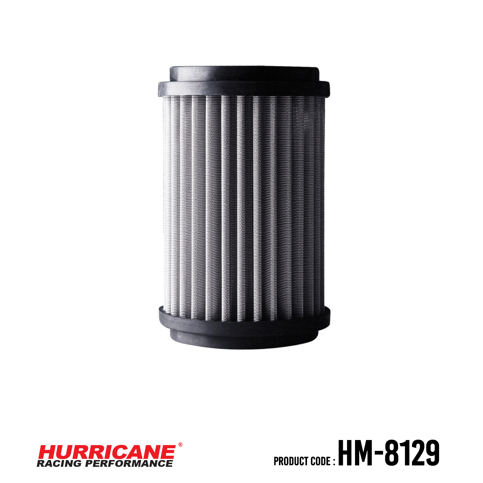 HURRICANE STAINLESS STEEL AIR FILTER FOR HM-8129 Ducati