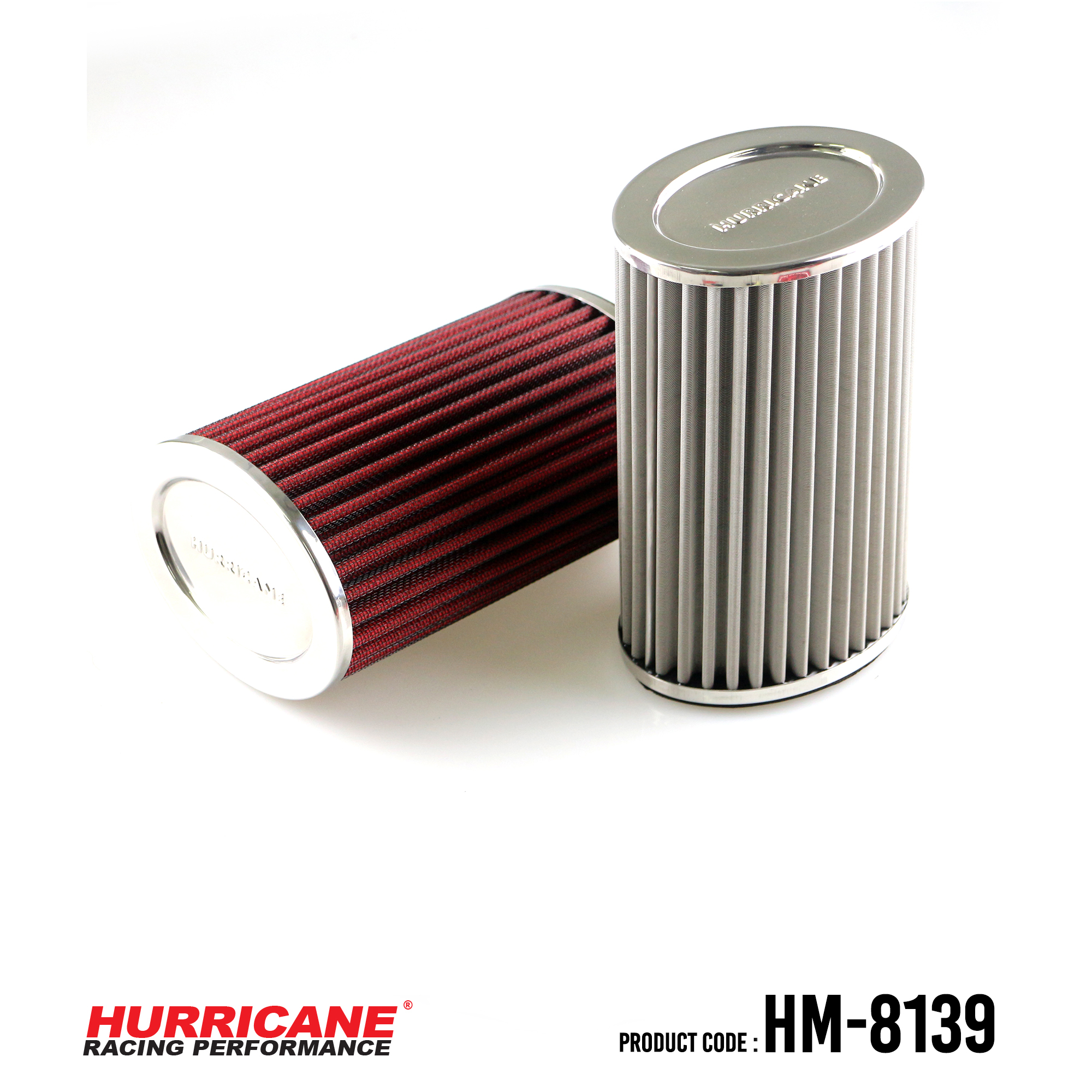 HURRICANE STAINLESS STEEL AIR FILTER FOR HM-8139 Thriumph