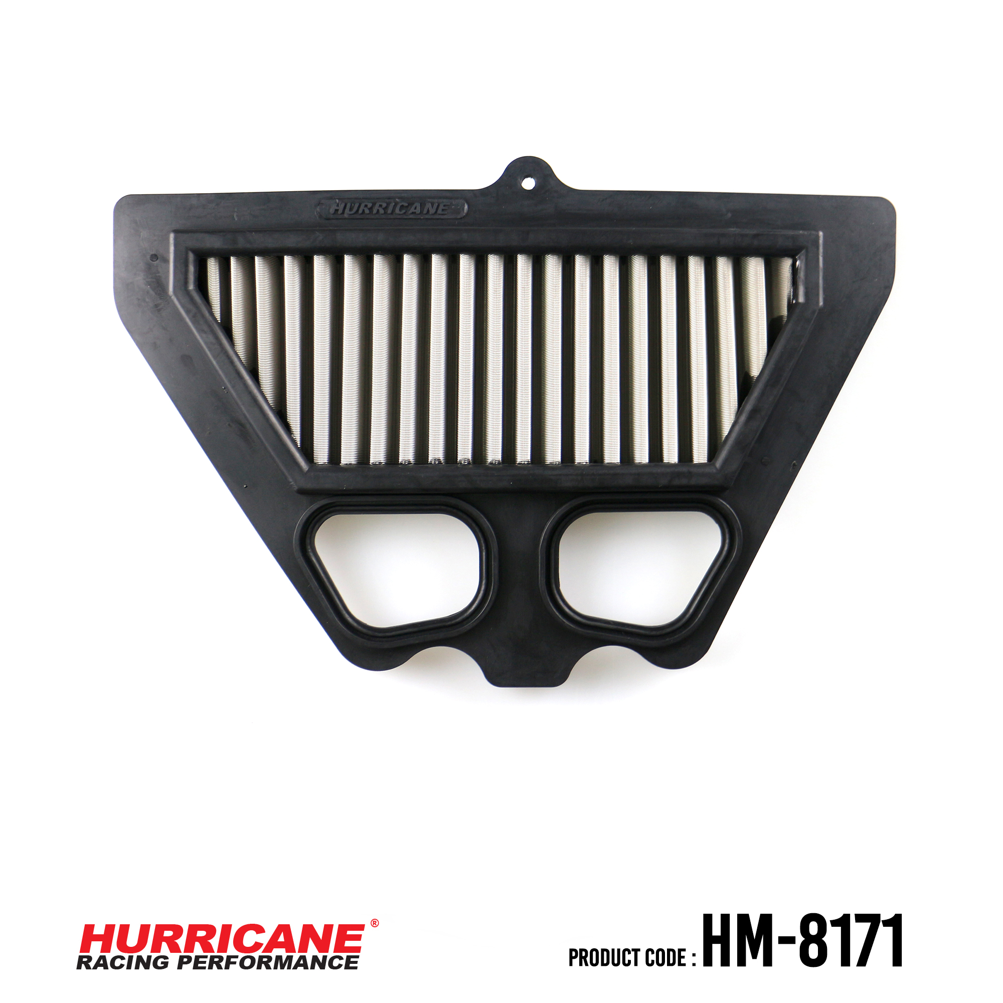 HURRICANE STAINLESS STEEL AIR FILTER FOR HM-8171 Kawasaki