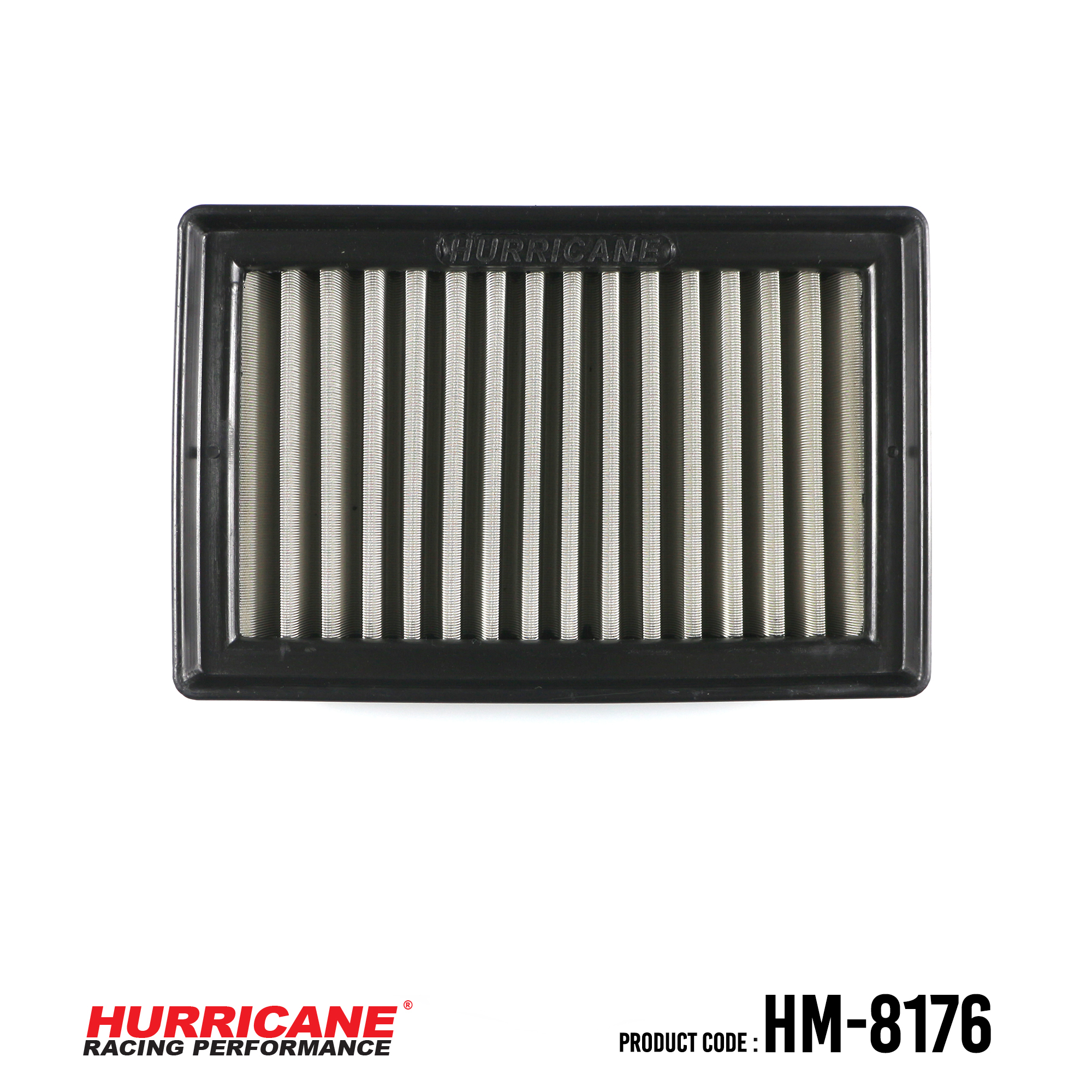HURRICANE STAINLESS STEEL AIR FILTER FOR HM-8176 BMW