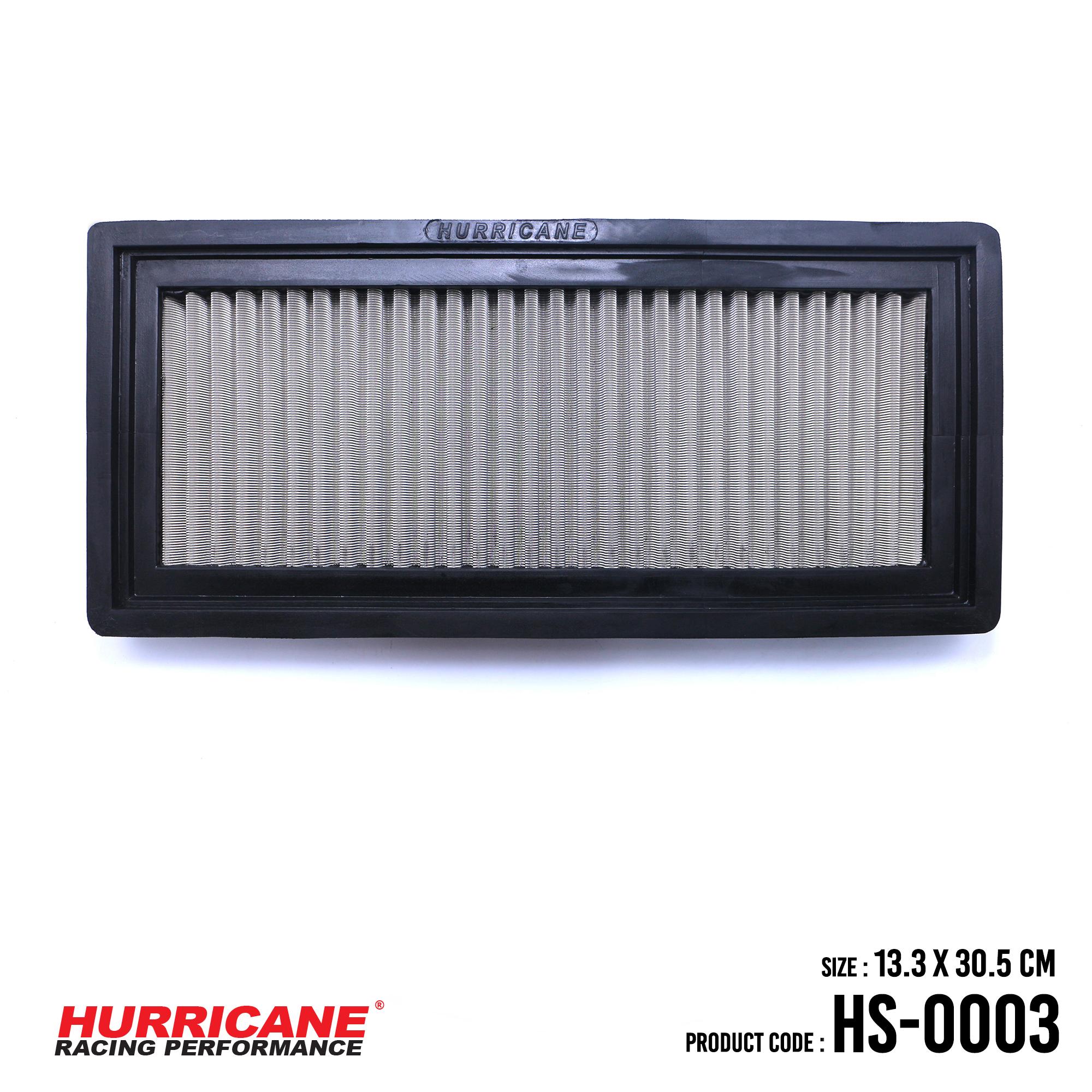 HURRICANE STAINLESS STEEL AIR FILTER FOR HS-0003 Alfa