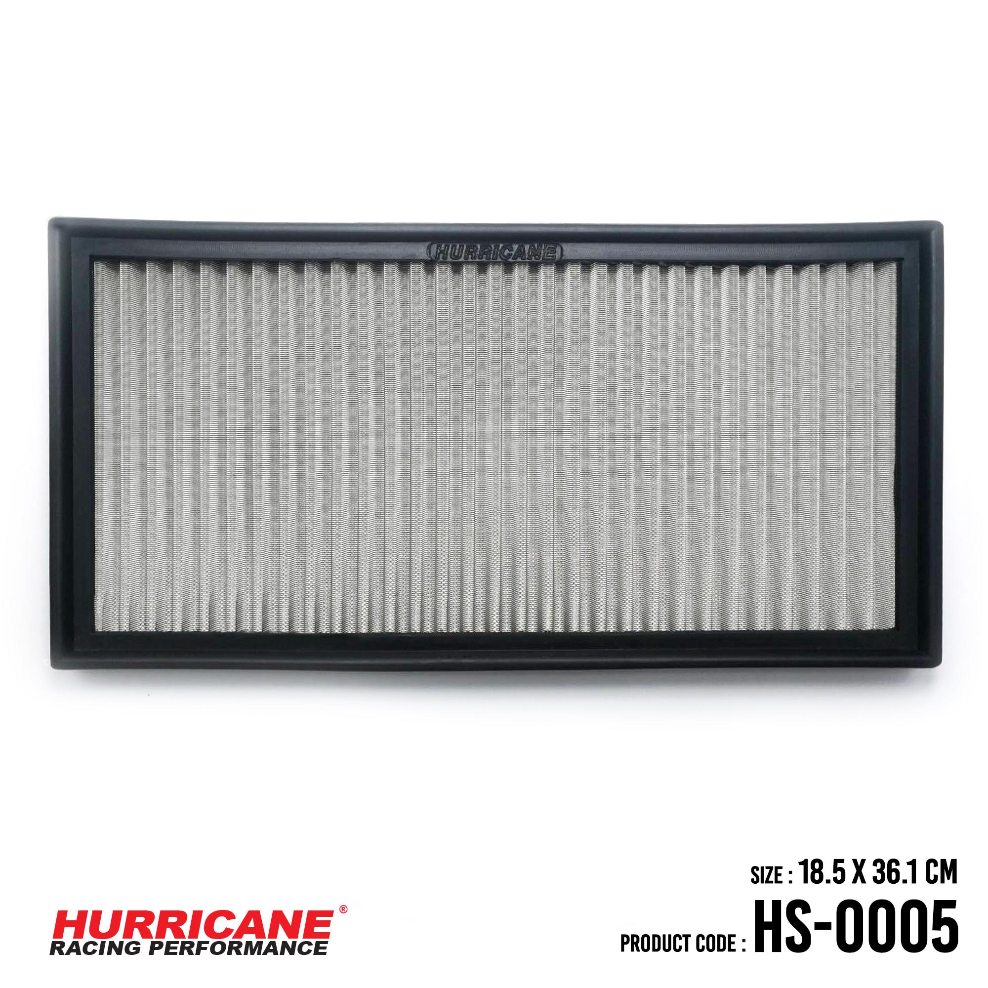 HURRICANE STAINLESS STEEL AIR FILTER FOR HS-0005 AudiMercedesBenzSeatSkodaVolkswagen