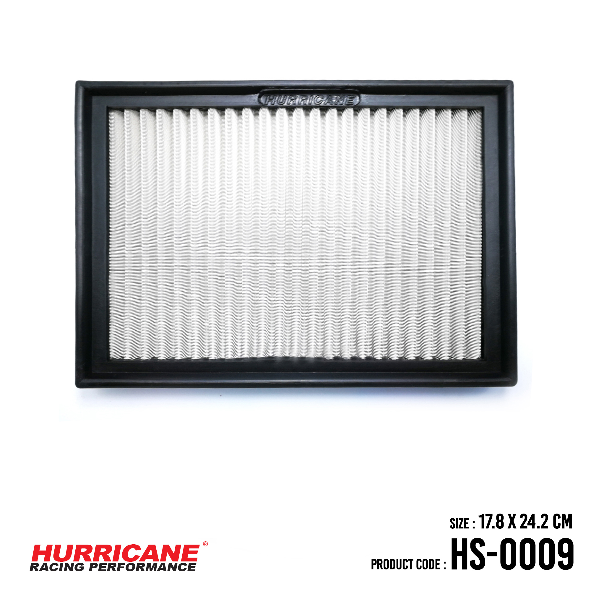 HURRICANE STAINLESS STEEL AIR FILTER FOR HS-0009 BMW