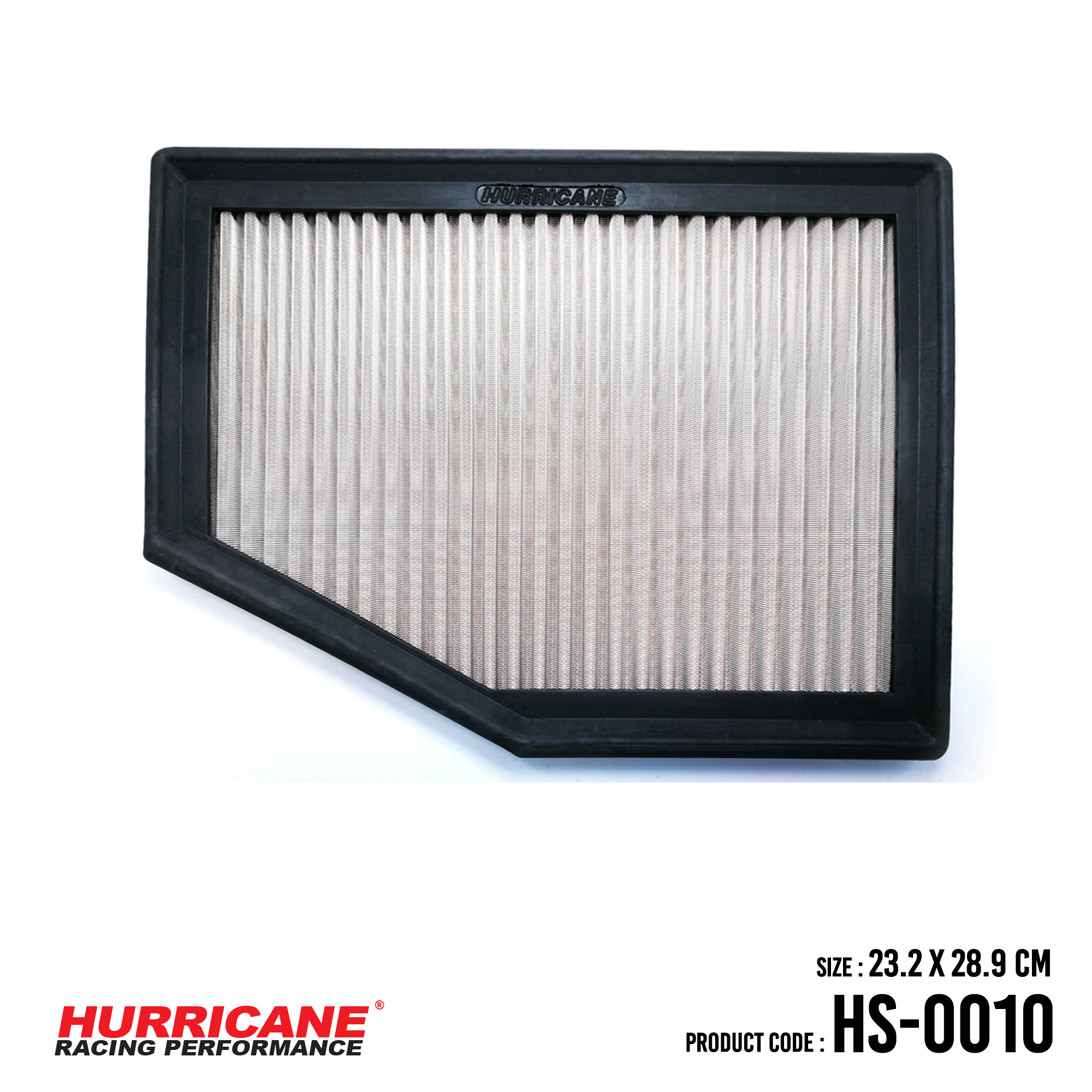 HURRICANE STAINLESS STEEL AIR FILTER FOR HS-0010 BMW