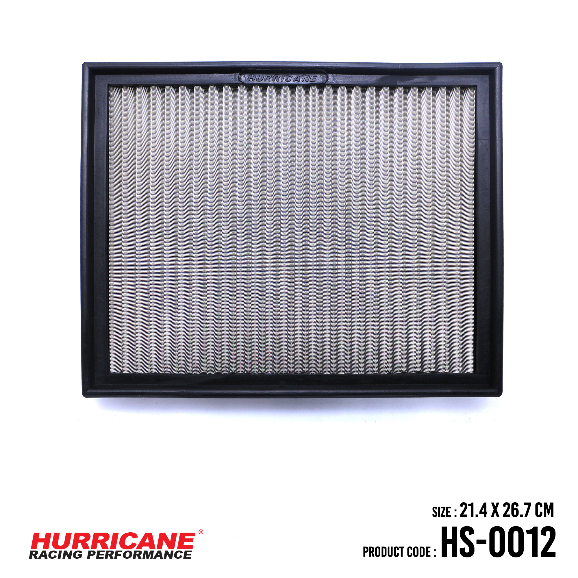 HURRICANE STAINLESS STEEL AIR FILTER FOR HS-0012 AudiSeat