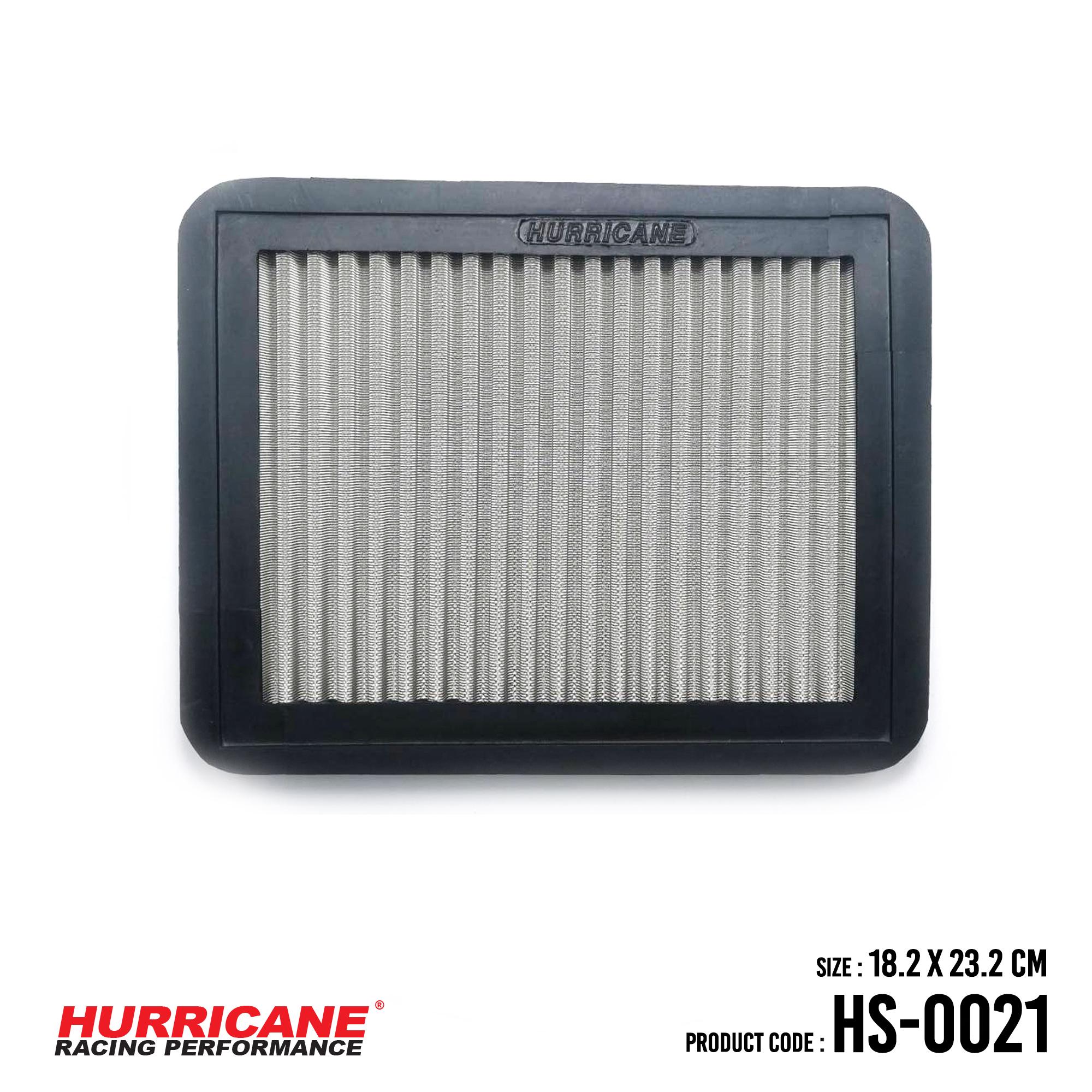HURRICANE STAINLESS STEEL AIR FILTER FOR HS-0021 ChryslerDodgeMazdaMitsubishiPlymouth