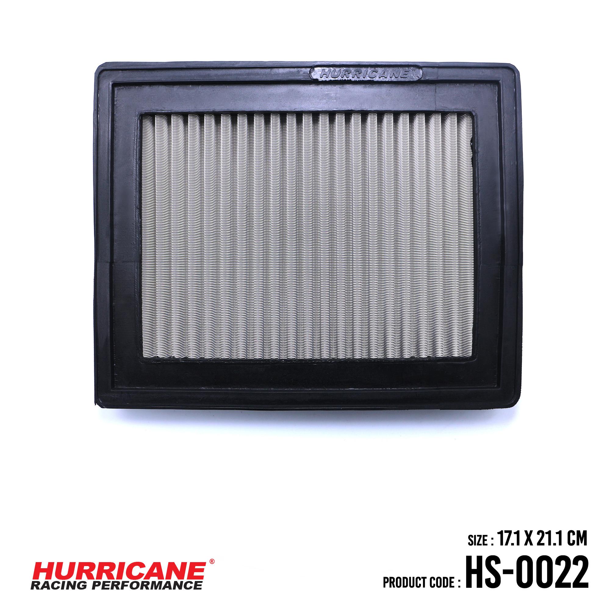 HURRICANE STAINLESS STEEL AIR FILTER FOR HS-0022 CitroenPeugeot