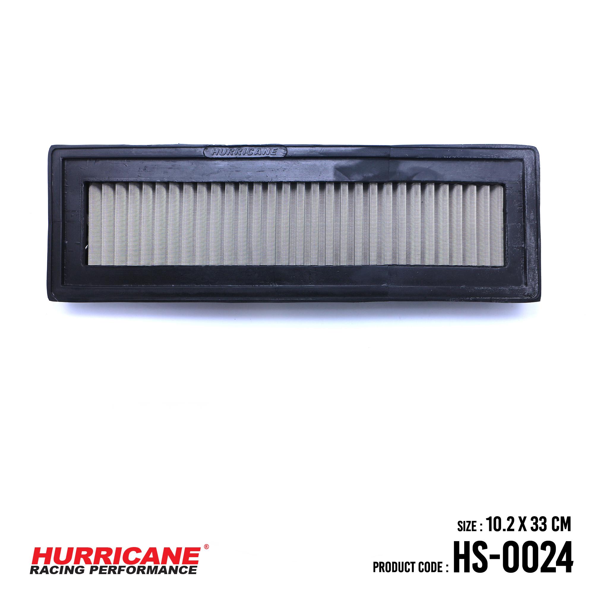 HURRICANE STAINLESS STEEL AIR FILTER FOR HS-0024 CitroenPeugeot