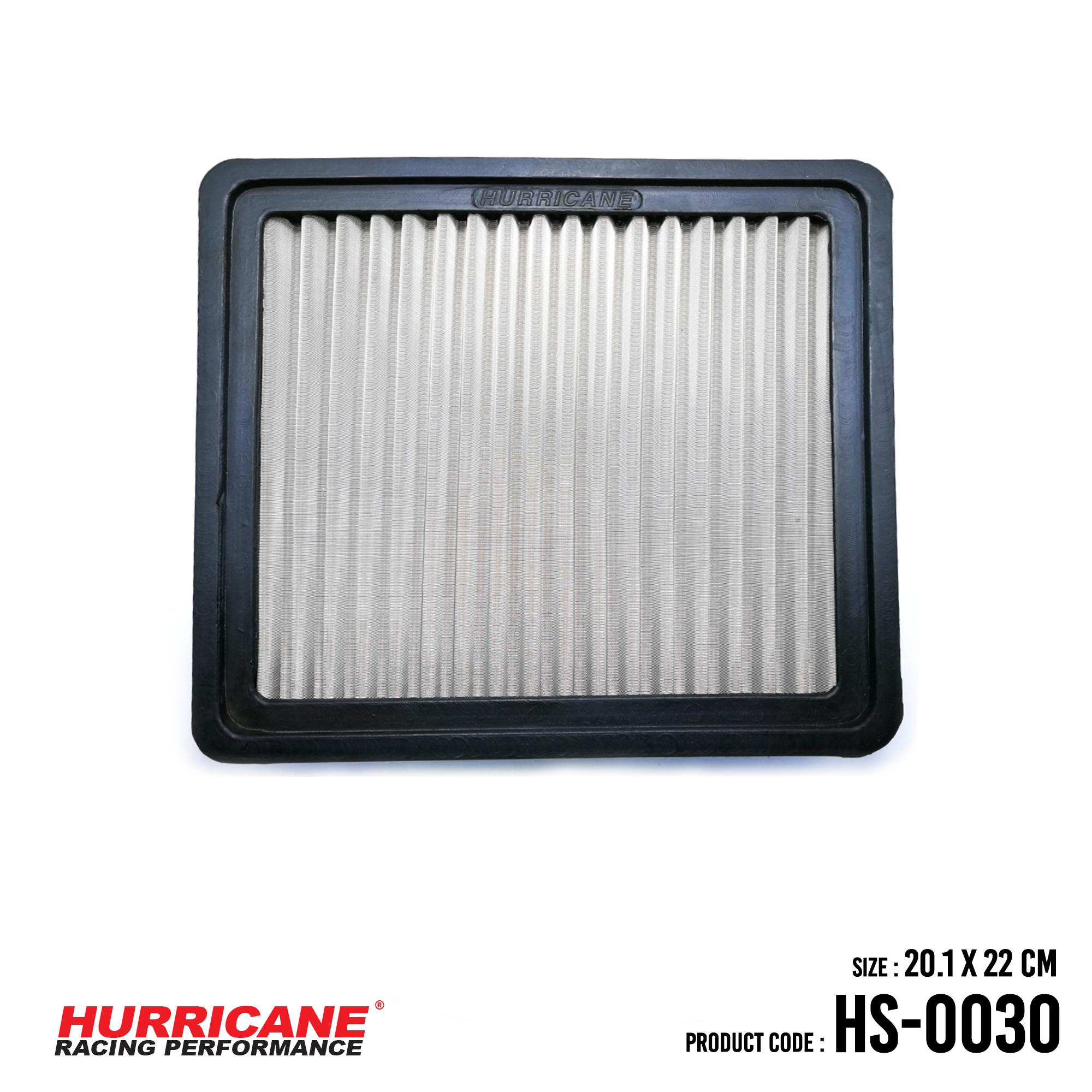 HURRICANE STAINLESS STEEL AIR FILTER FOR HS-0030 DodgeEagleMitsubishiMitsubishiPlymouthProton