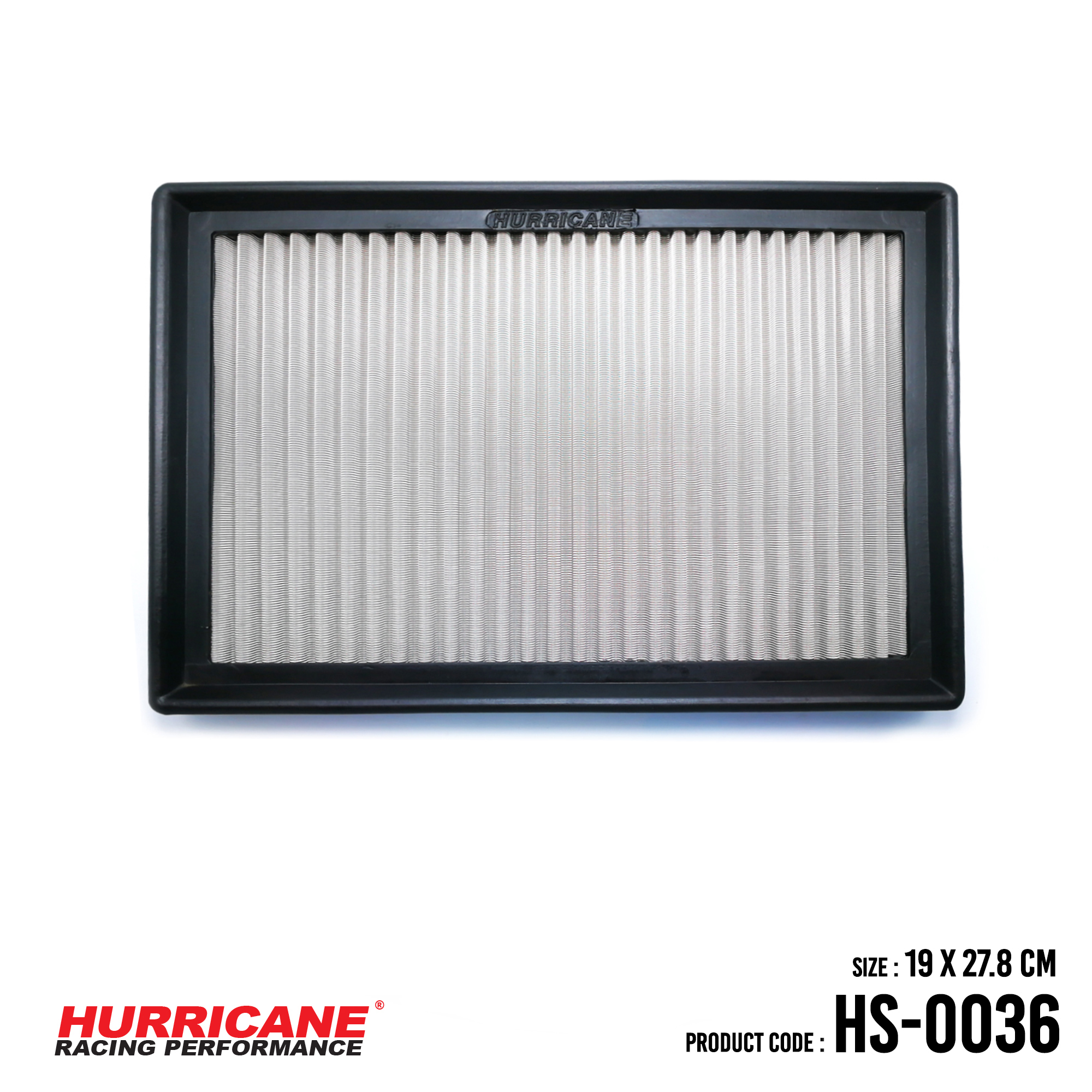 HURRICANE STAINLESS STEEL AIR FILTER FOR HS-0036 FordVolvo
