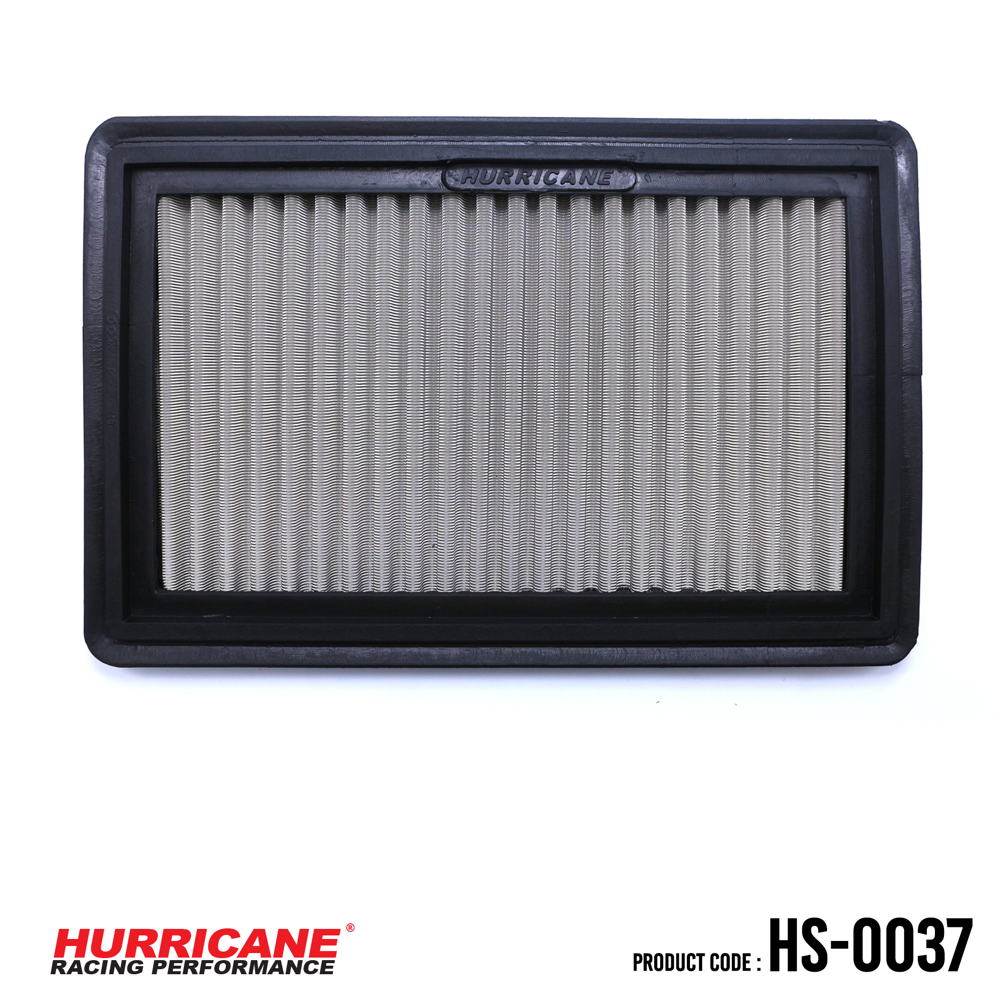 HURRICANE STAINLESS STEEL AIR FILTER FOR HS-0037 Ford