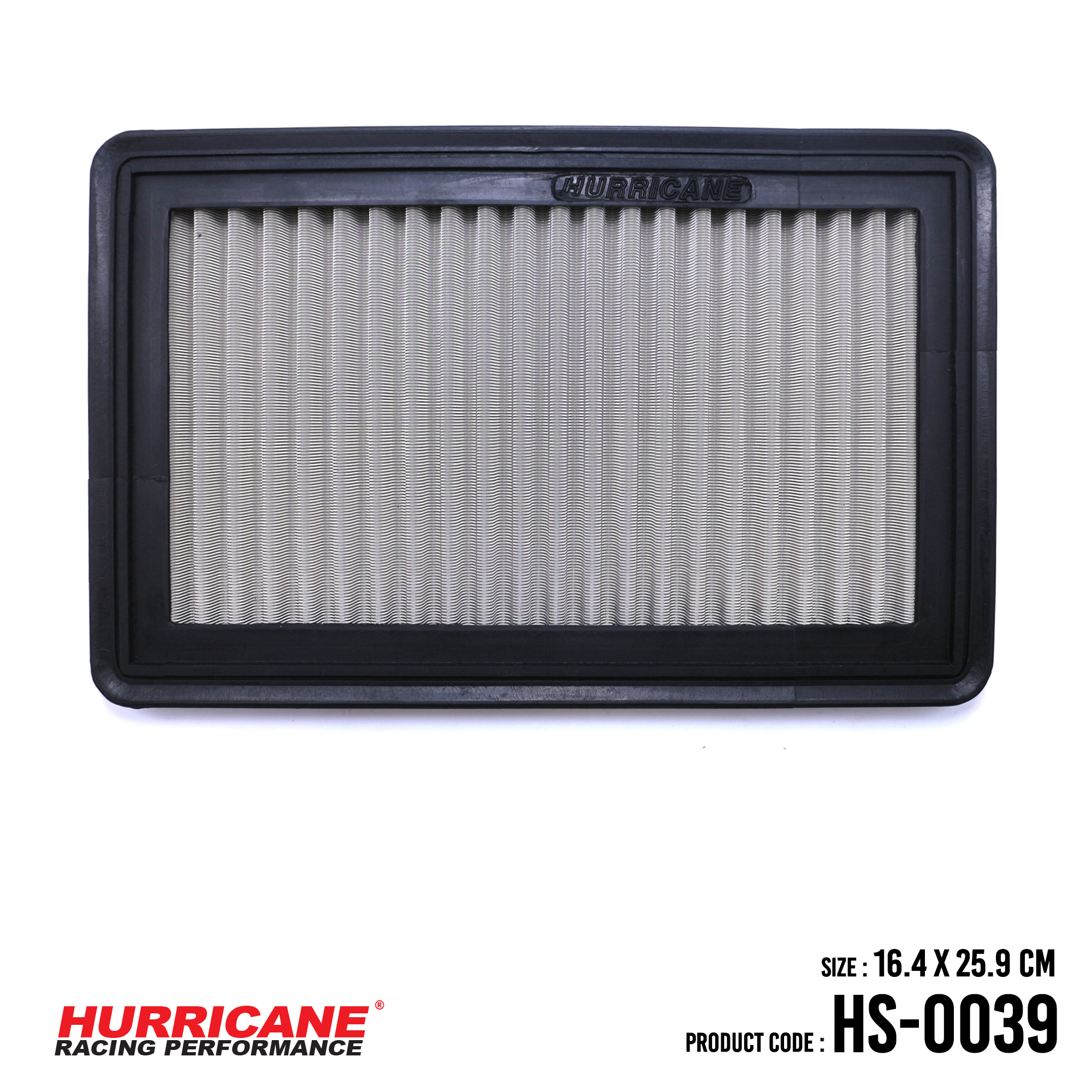 HURRICANE STAINLESS STEEL AIR FILTER FOR HS-0039 FordMazda
