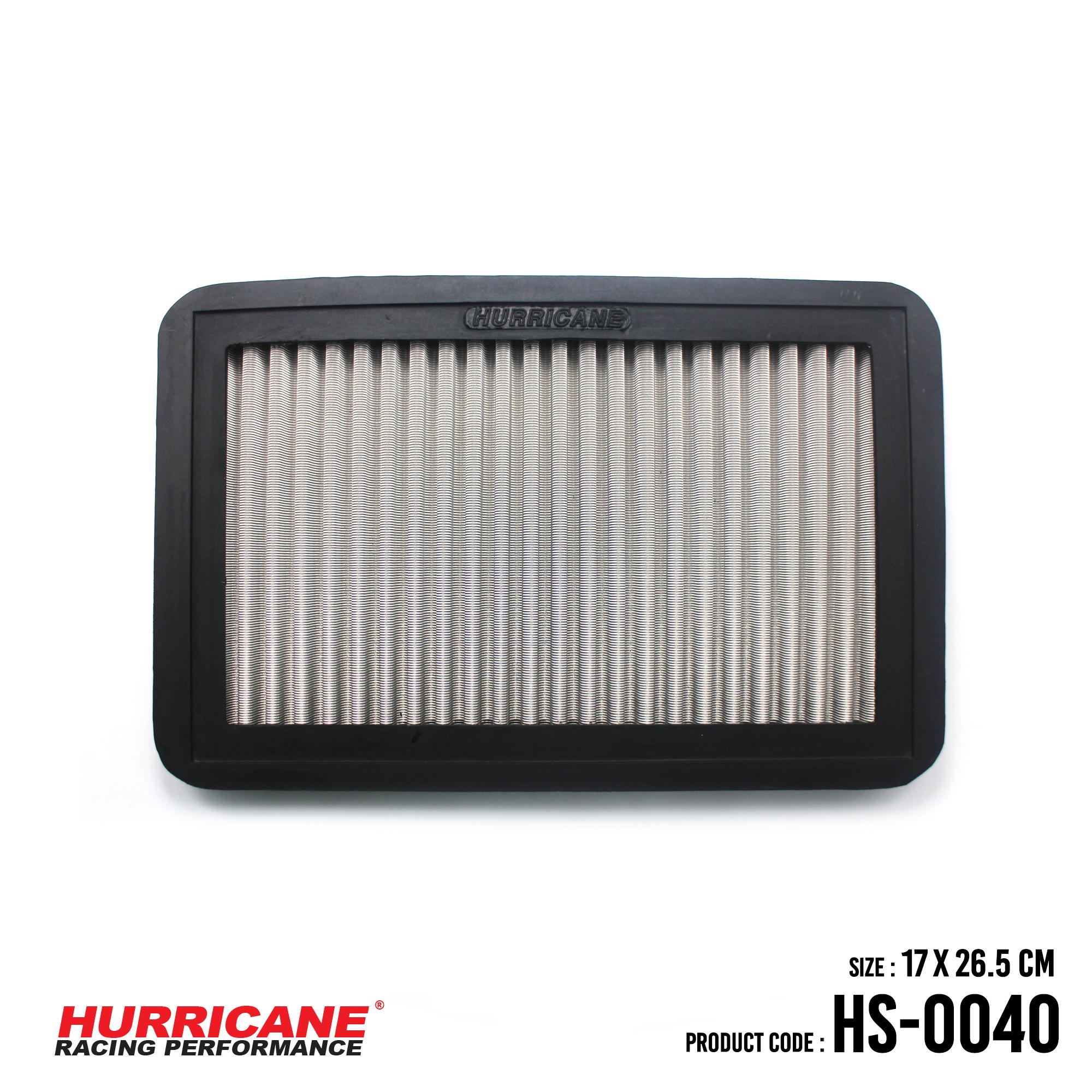 HURRICANE STAINLESS STEEL AIR FILTER FOR HS-0040 ChevroletGeoMazdaToyota