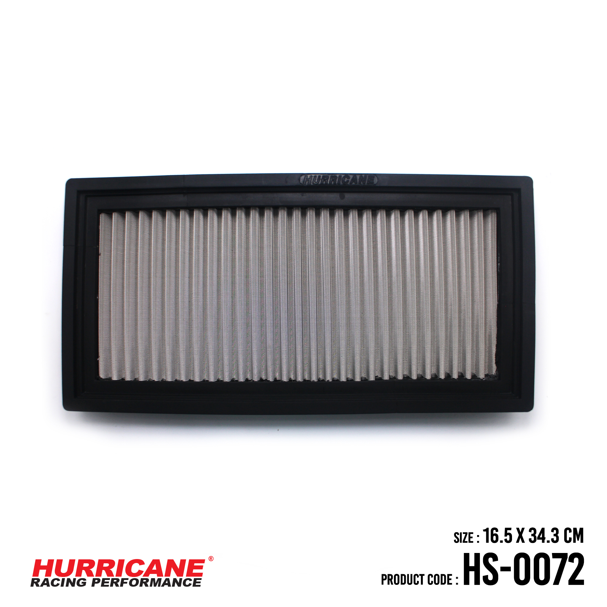 HURRICANE STAINLESS STEEL AIR FILTER FOR HS-0072 Jeep