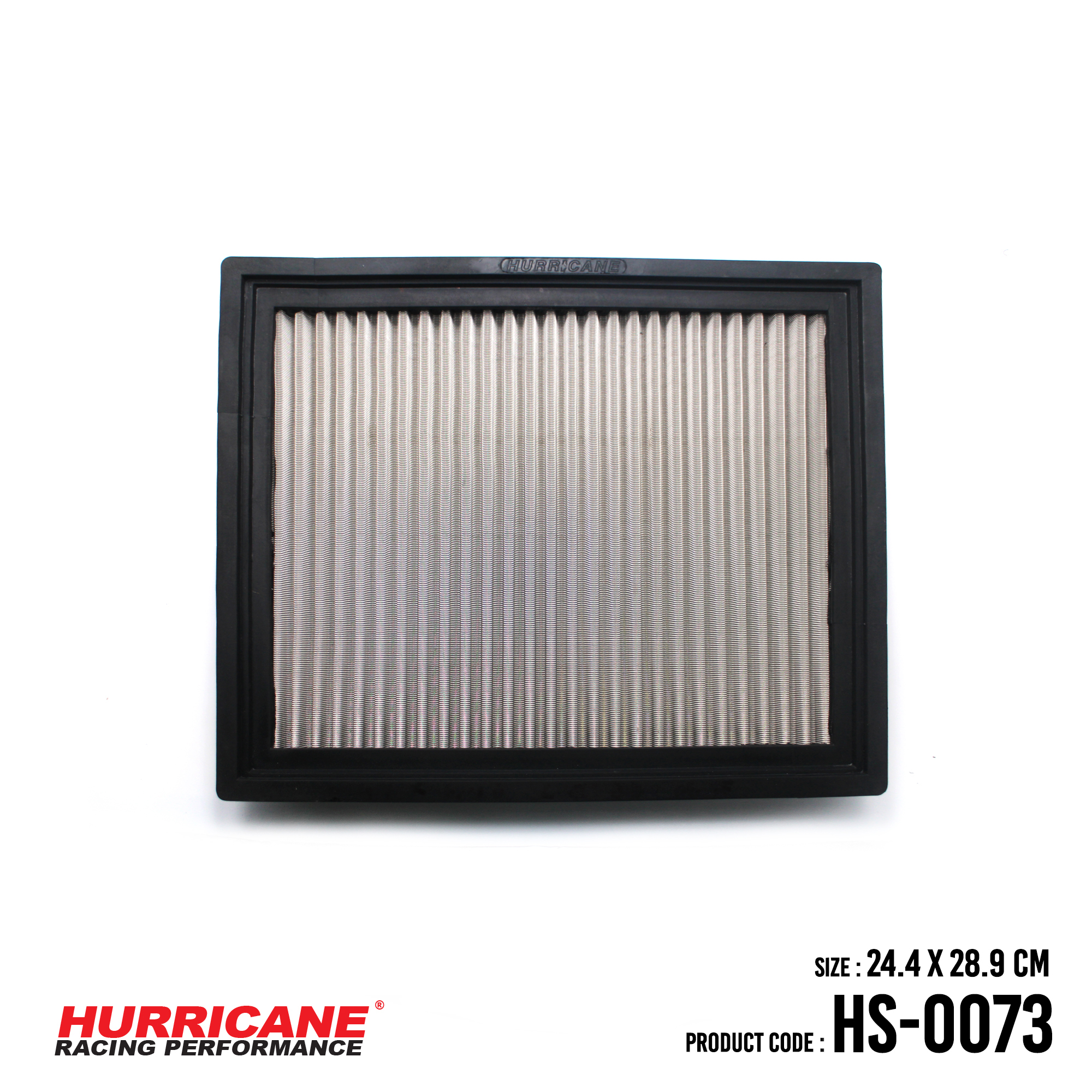 HURRICANE STAINLESS STEEL AIR FILTER FOR HS-0073 Jeep