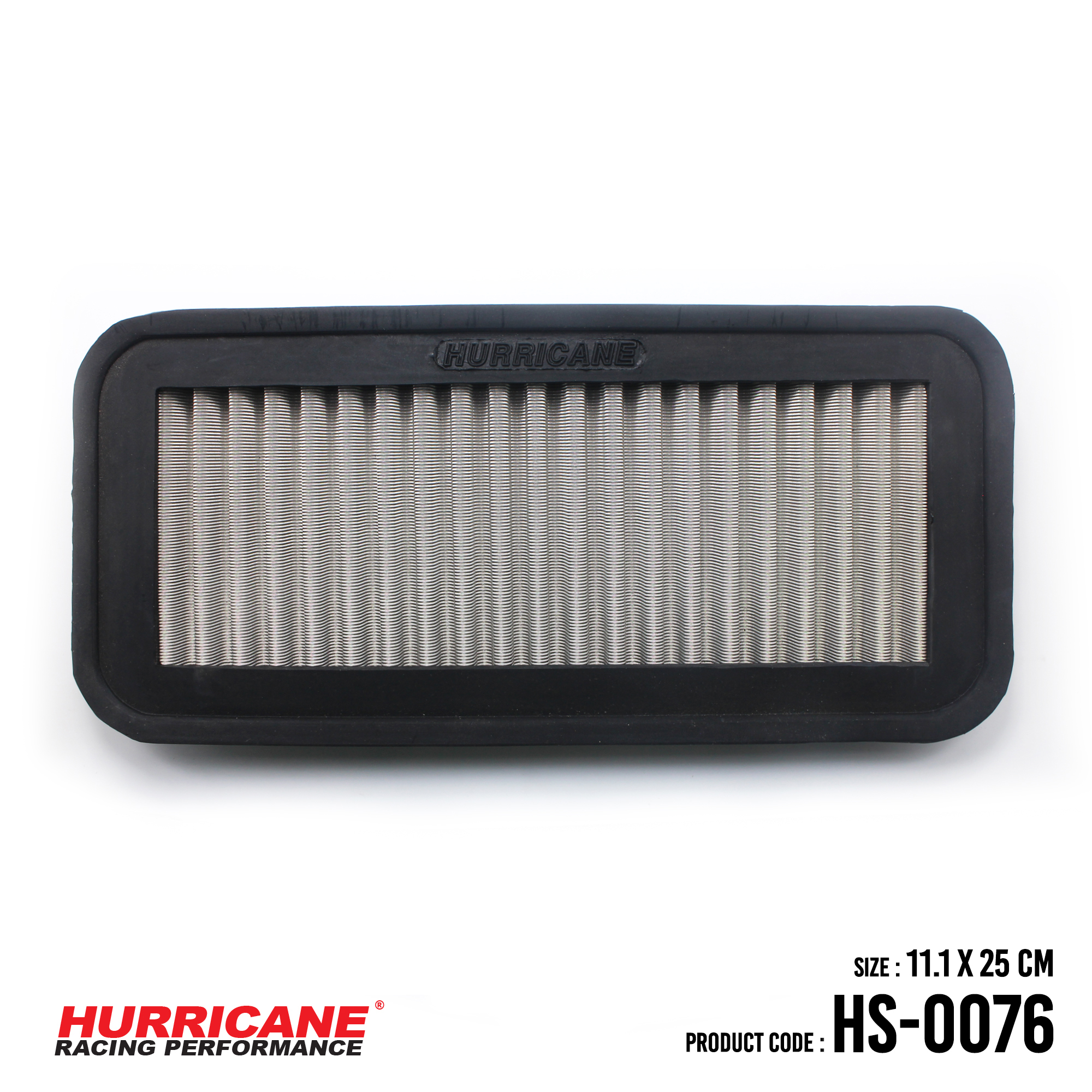 HURRICANE STAINLESS STEEL AIR FILTER FOR HS-0076 Kia