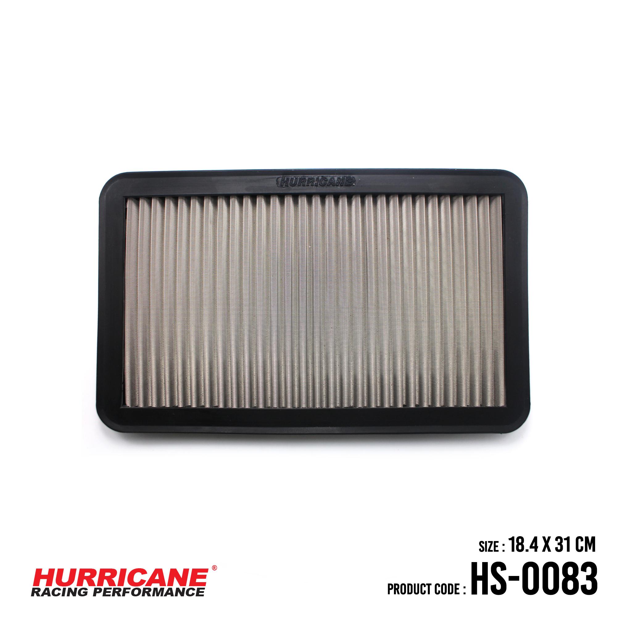 HURRICANE STAINLESS STEEL AIR FILTER FOR HS-0083 LexusToyota