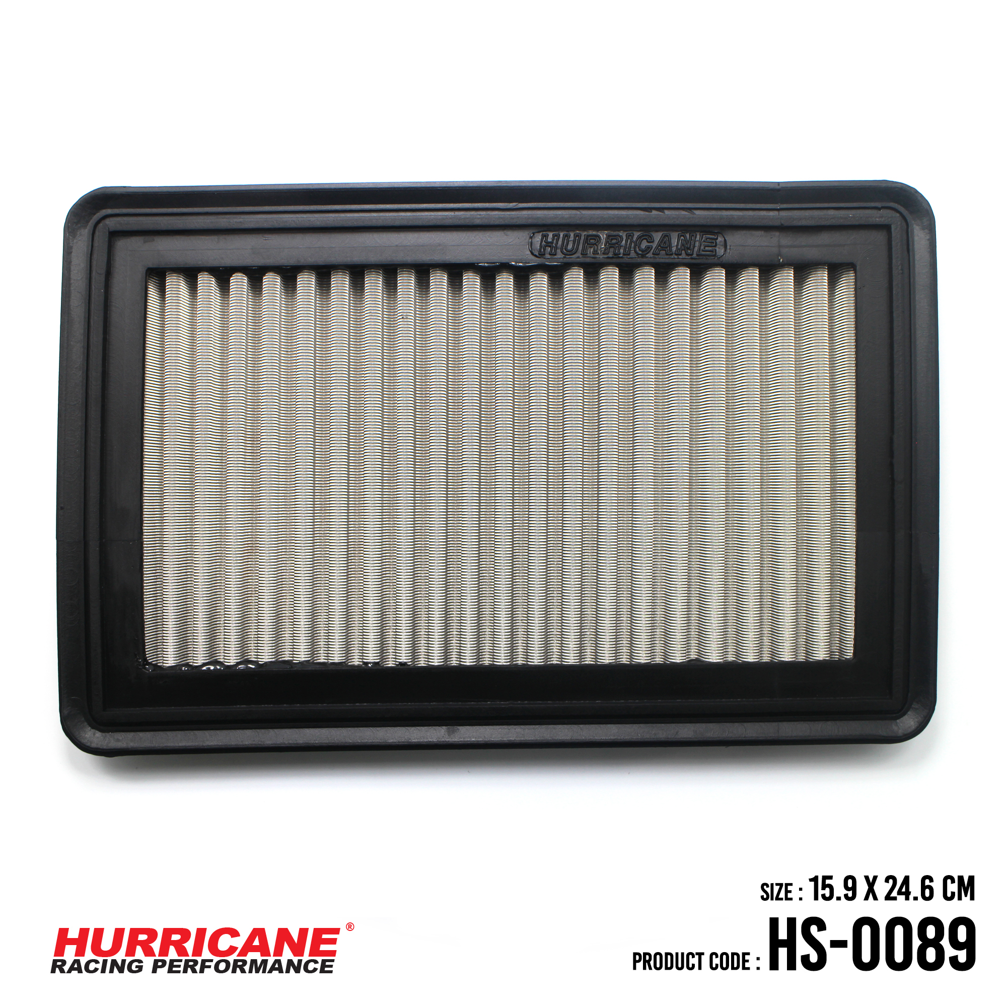 HURRICANE STAINLESS STEEL AIR FILTER FOR HS-0089 Mazda