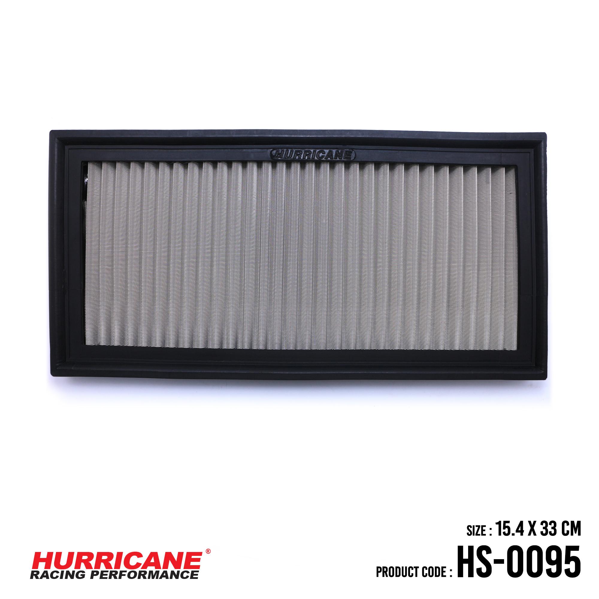 HURRICANE STAINLESS STEEL AIR FILTER FOR HS-0095 MercedesBenz