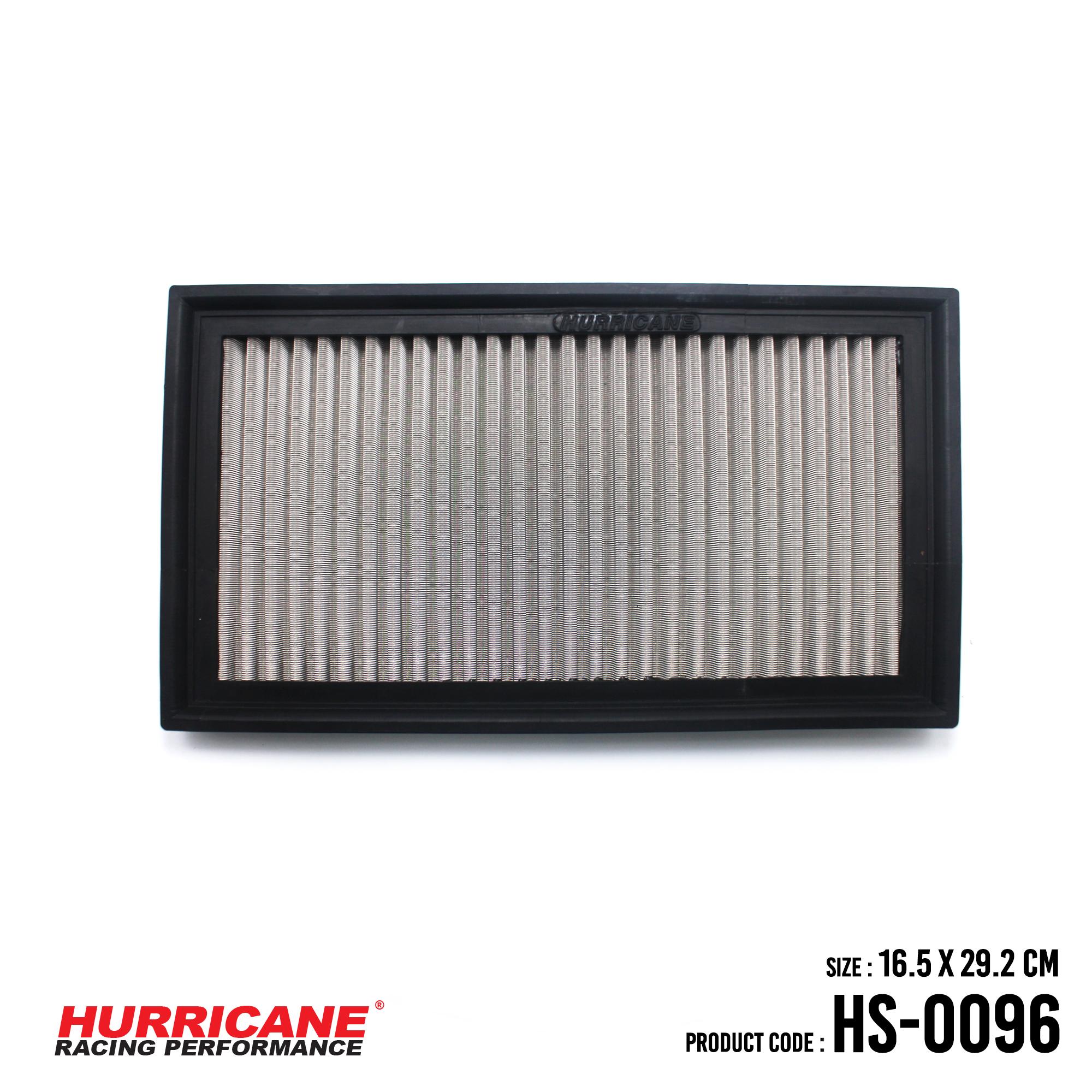 HURRICANE STAINLESS STEEL AIR FILTER FOR HS-0096 MercedesBenz