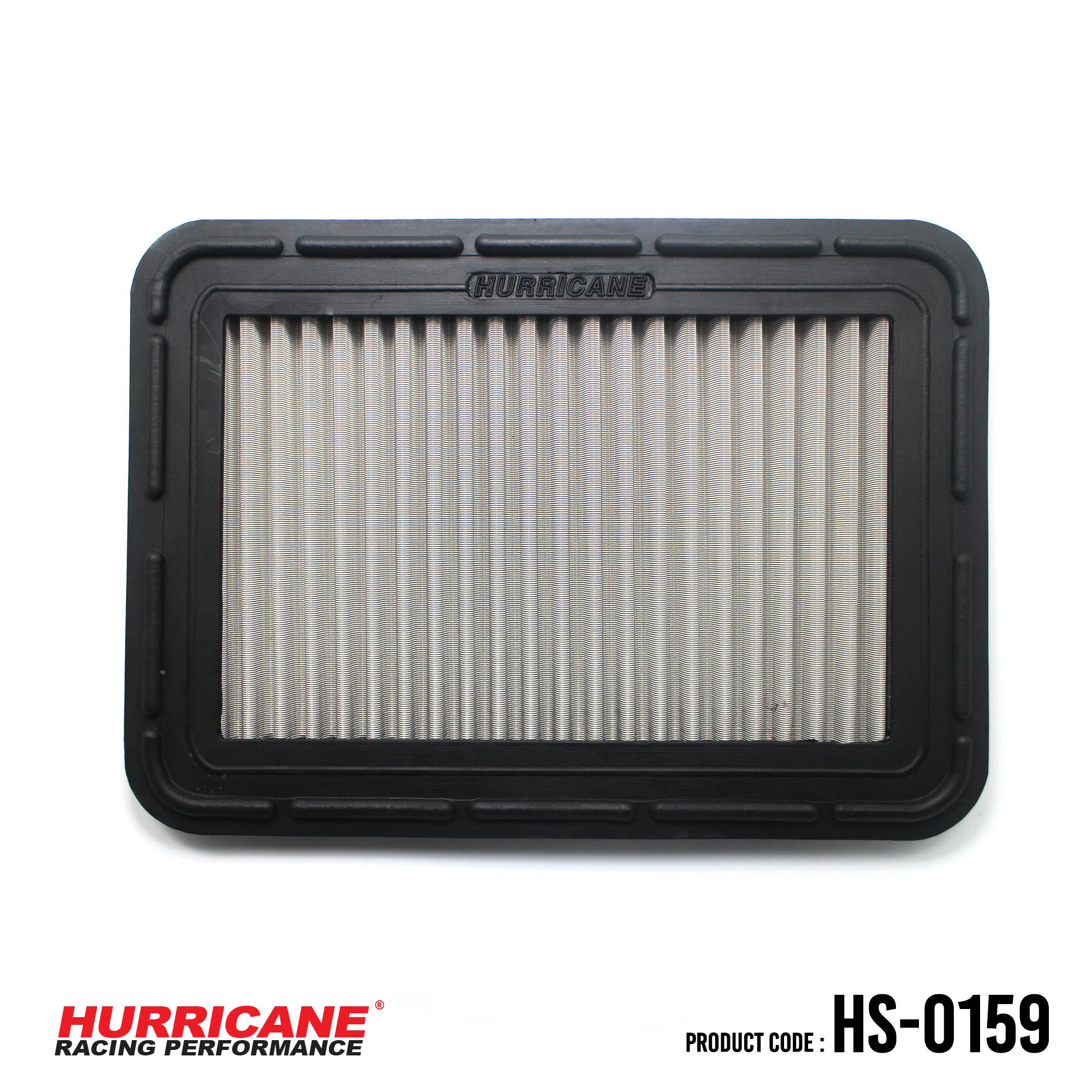 HURRICANE STAINLESS STEEL AIR FILTER FOR HS-0159 Daihatsu