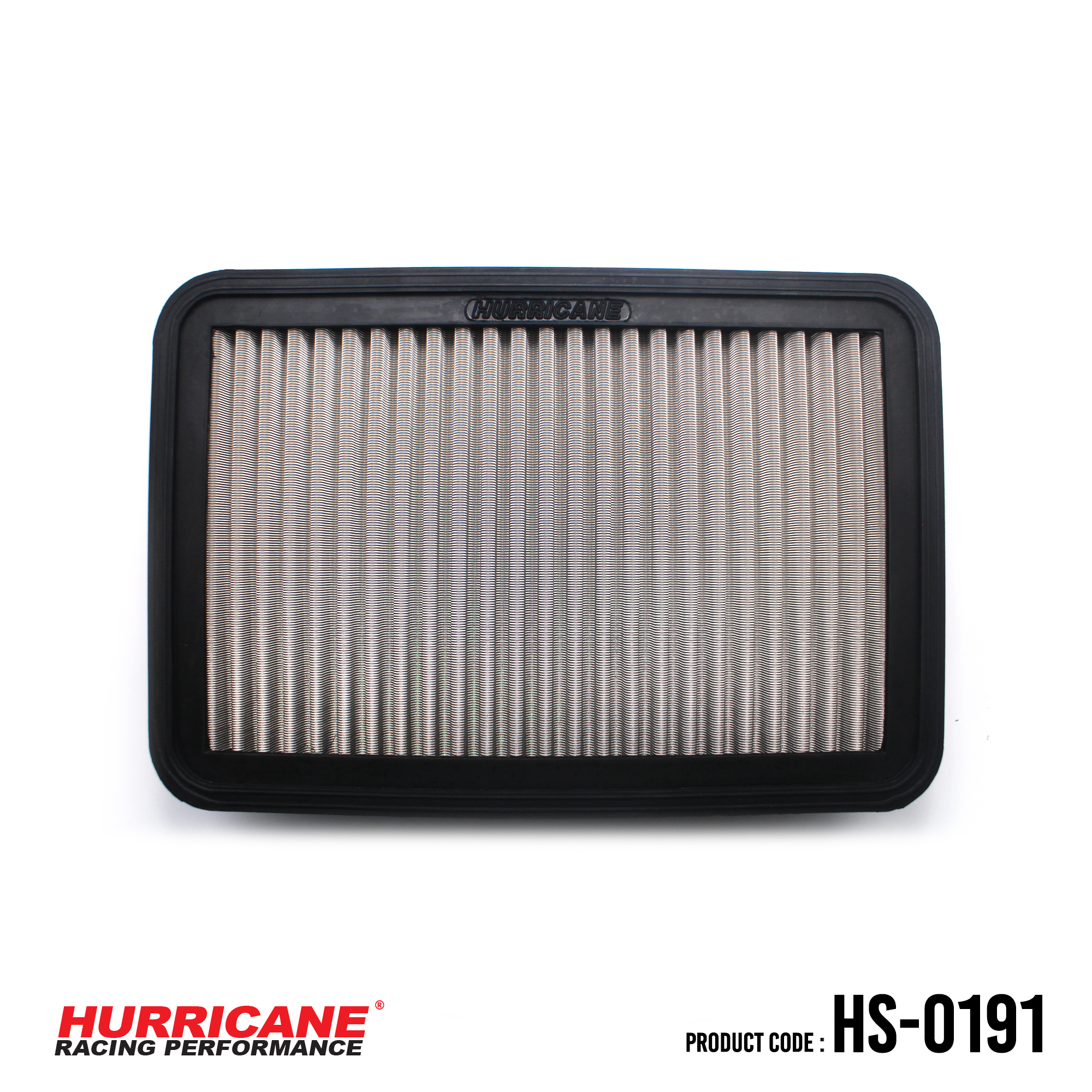 HURRICANE STAINLESS STEEL AIR FILTER FOR HS-0191 Mitsubishi