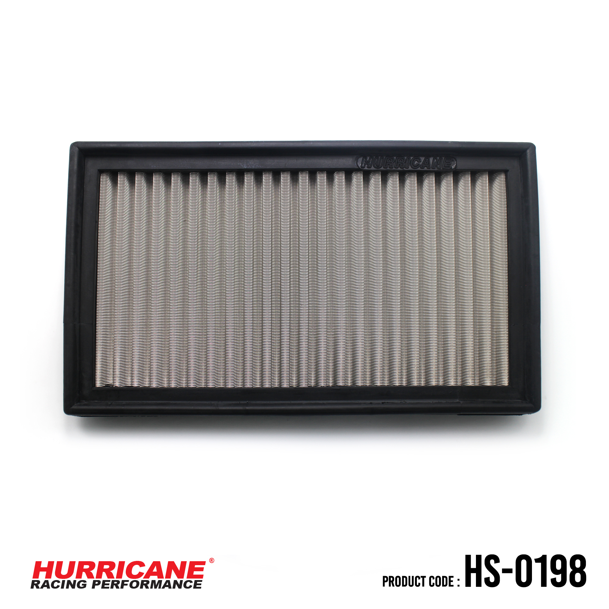 HURRICANE STAINLESS STEEL AIR FILTER FOR HS-0198 BMW