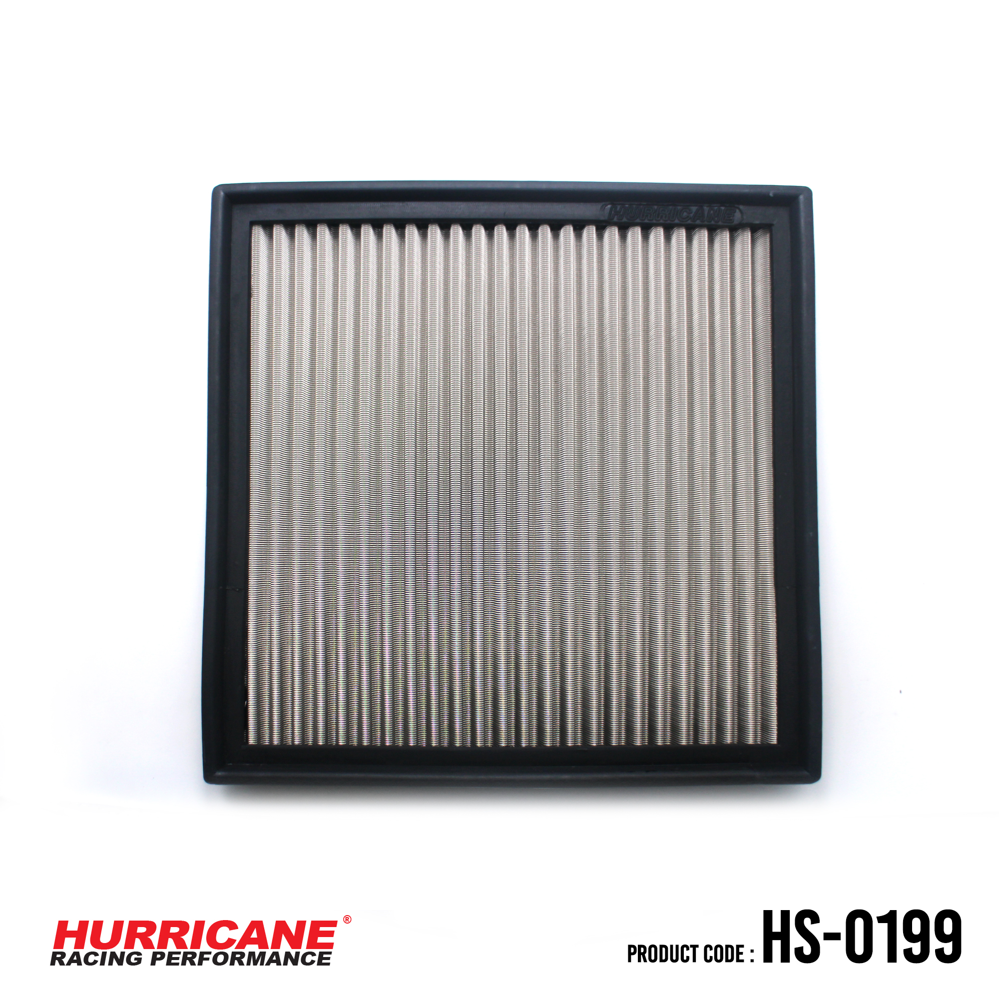 HURRICANE STAINLESS STEEL AIR FILTER FOR HS-0199 BMW