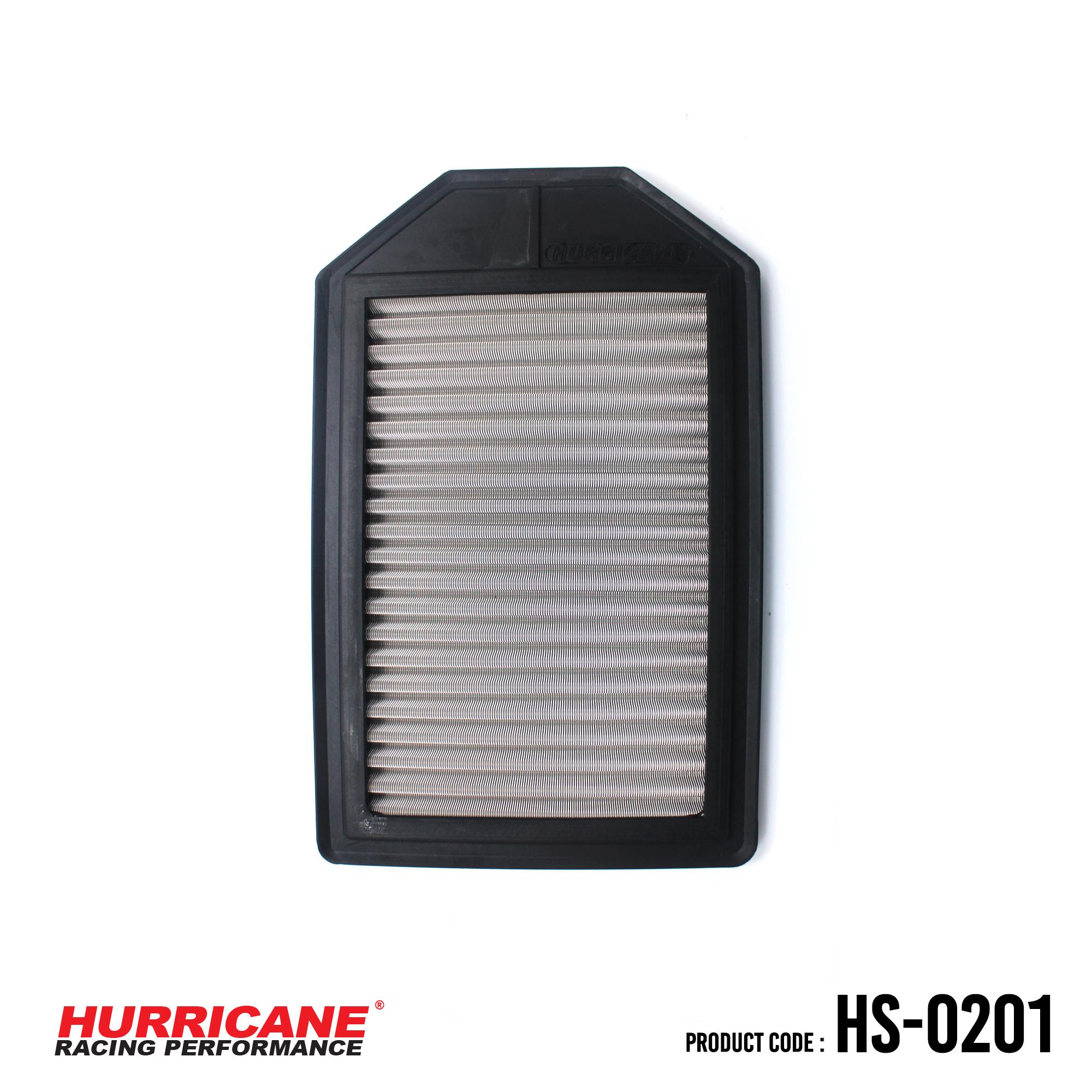 HURRICANE STAINLESS STEEL AIR FILTER FOR HS-0201 Honda