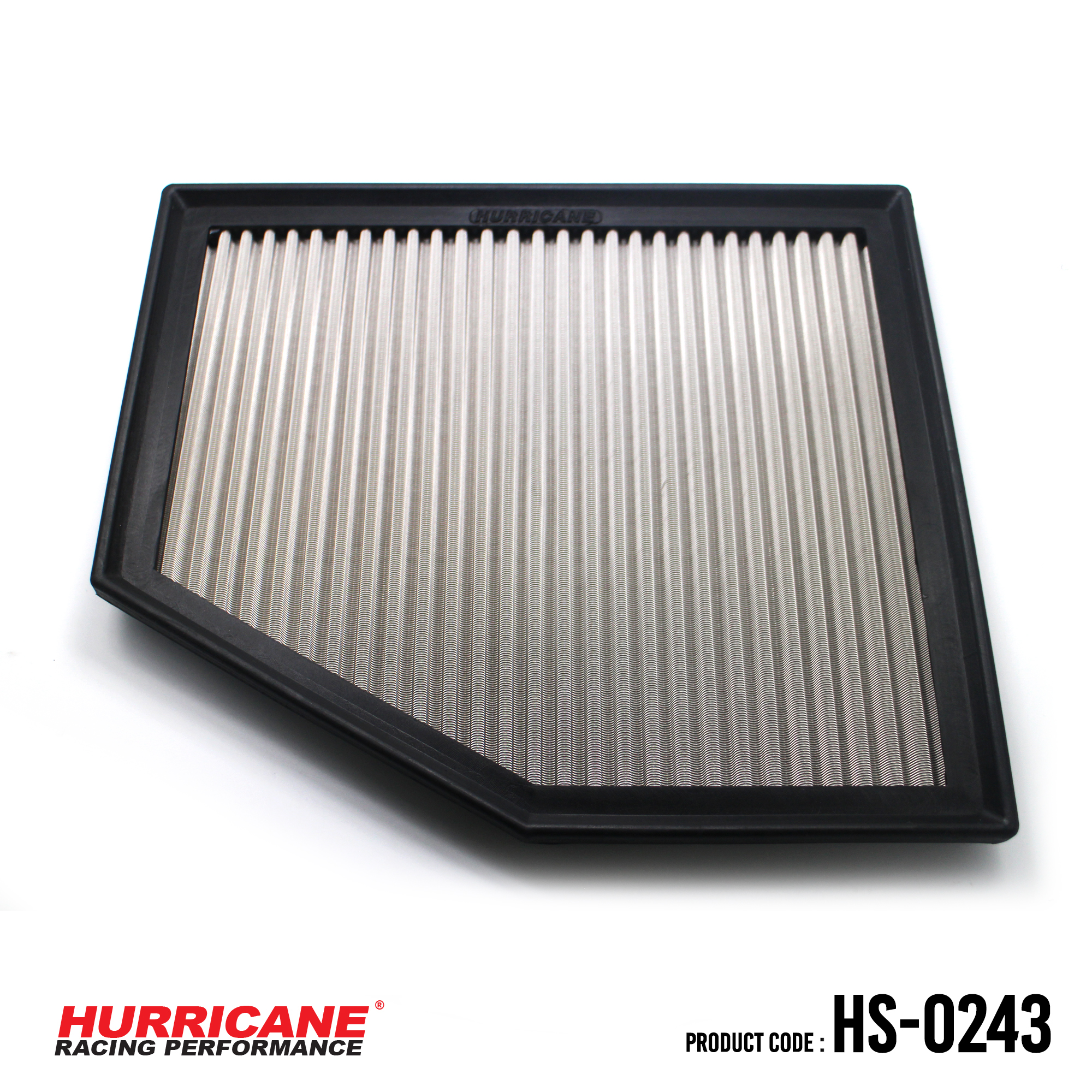 HURRICANE STAINLESS STEEL AIR FILTER FOR HS-0243 BMW