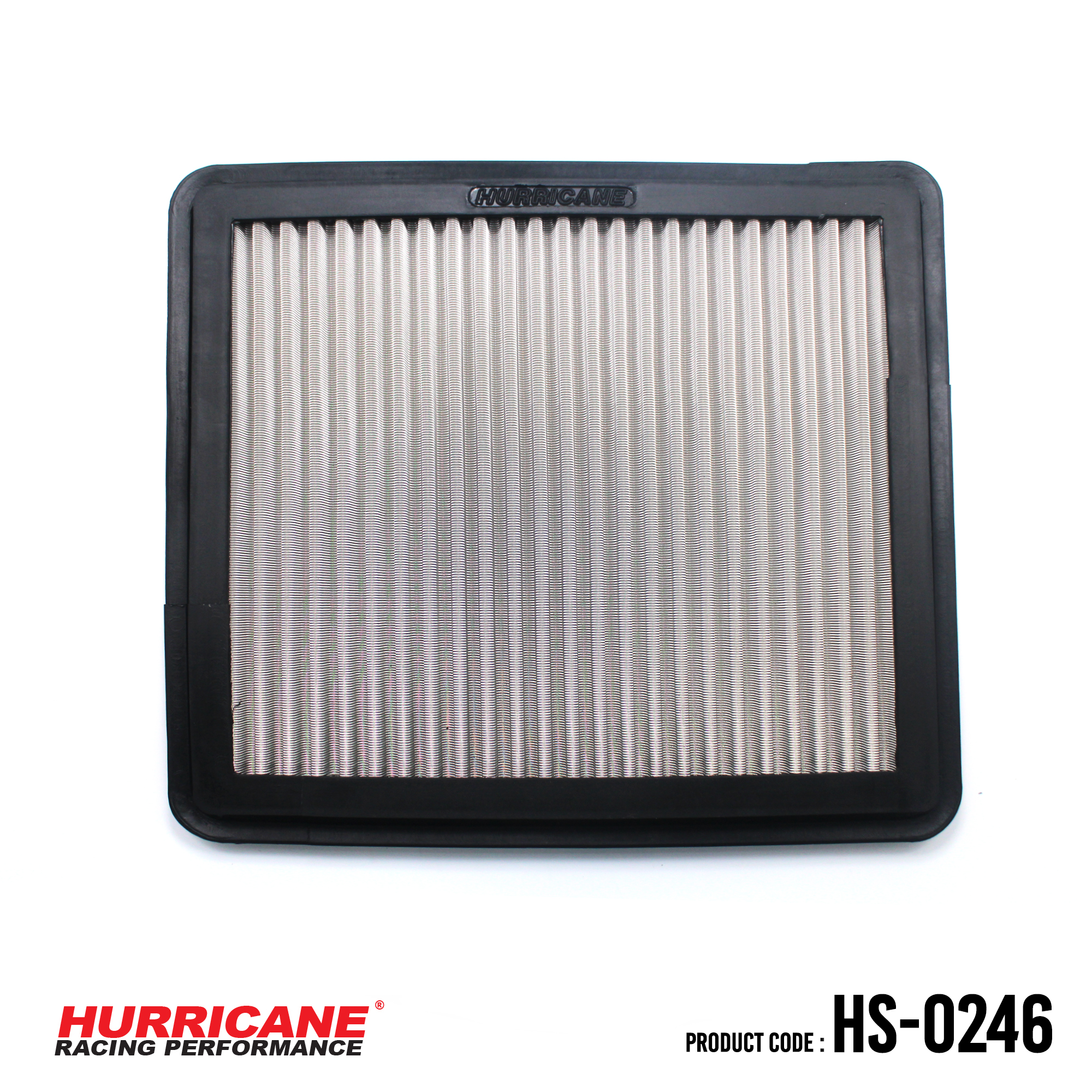HURRICANE STAINLESS STEEL AIR FILTER FOR HS-0246 Nissan