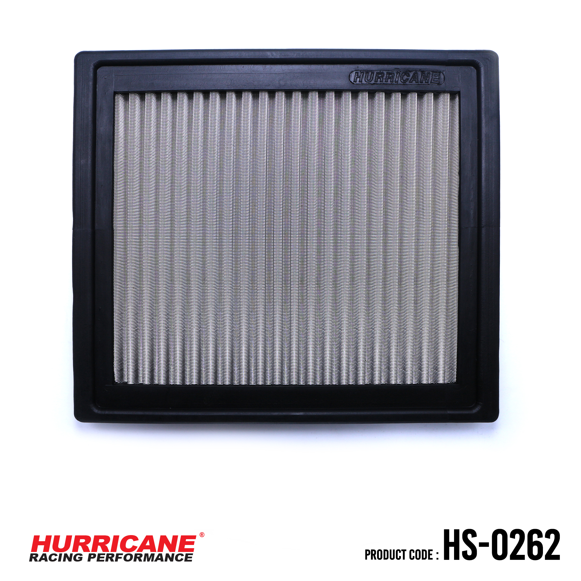 HURRICANE STAINLESS STEEL AIR FILTER FOR HS-0262  OpelVauxhall