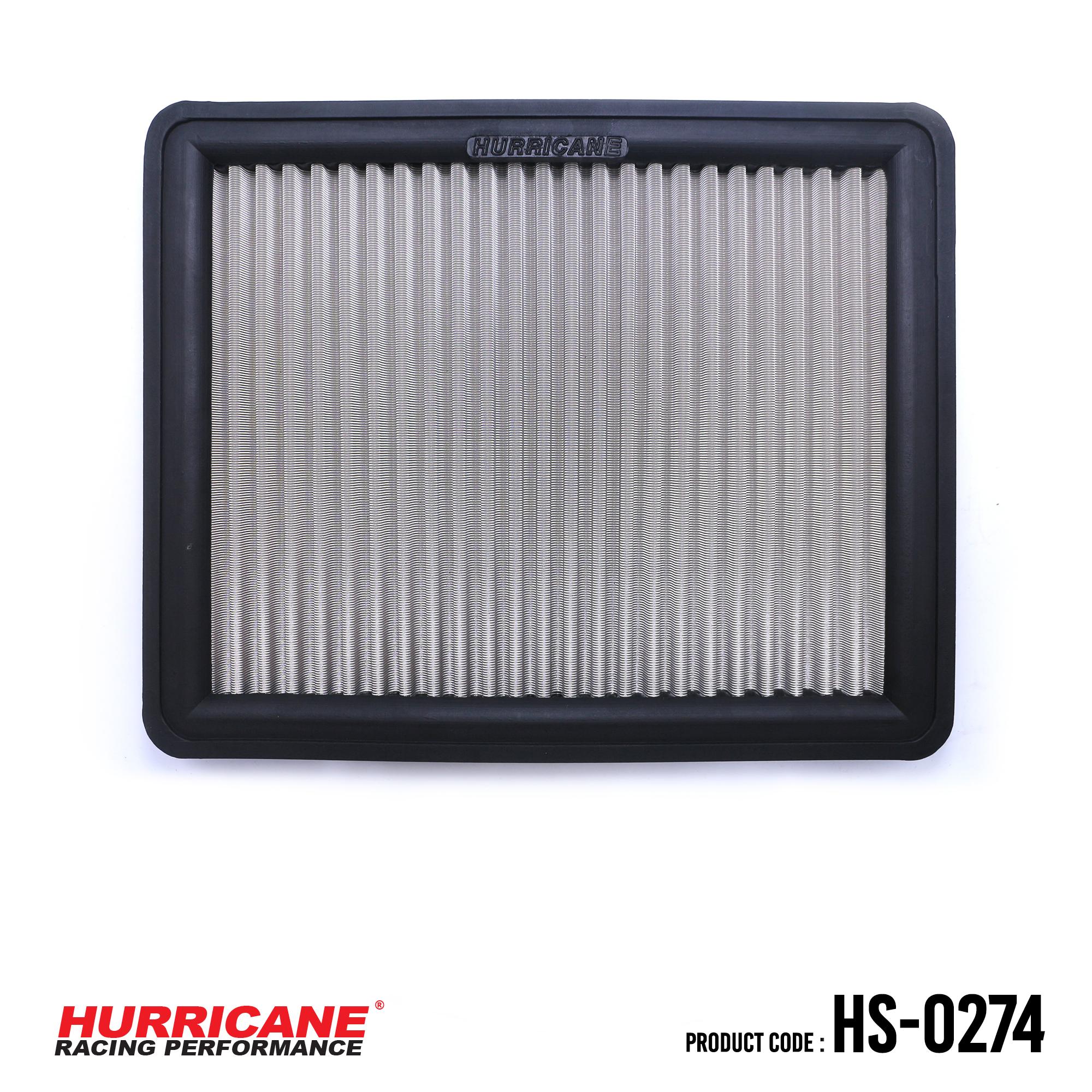 HURRICANE STAINLESS STEEL AIR FILTER FOR HS-0274 HyundaiKia
