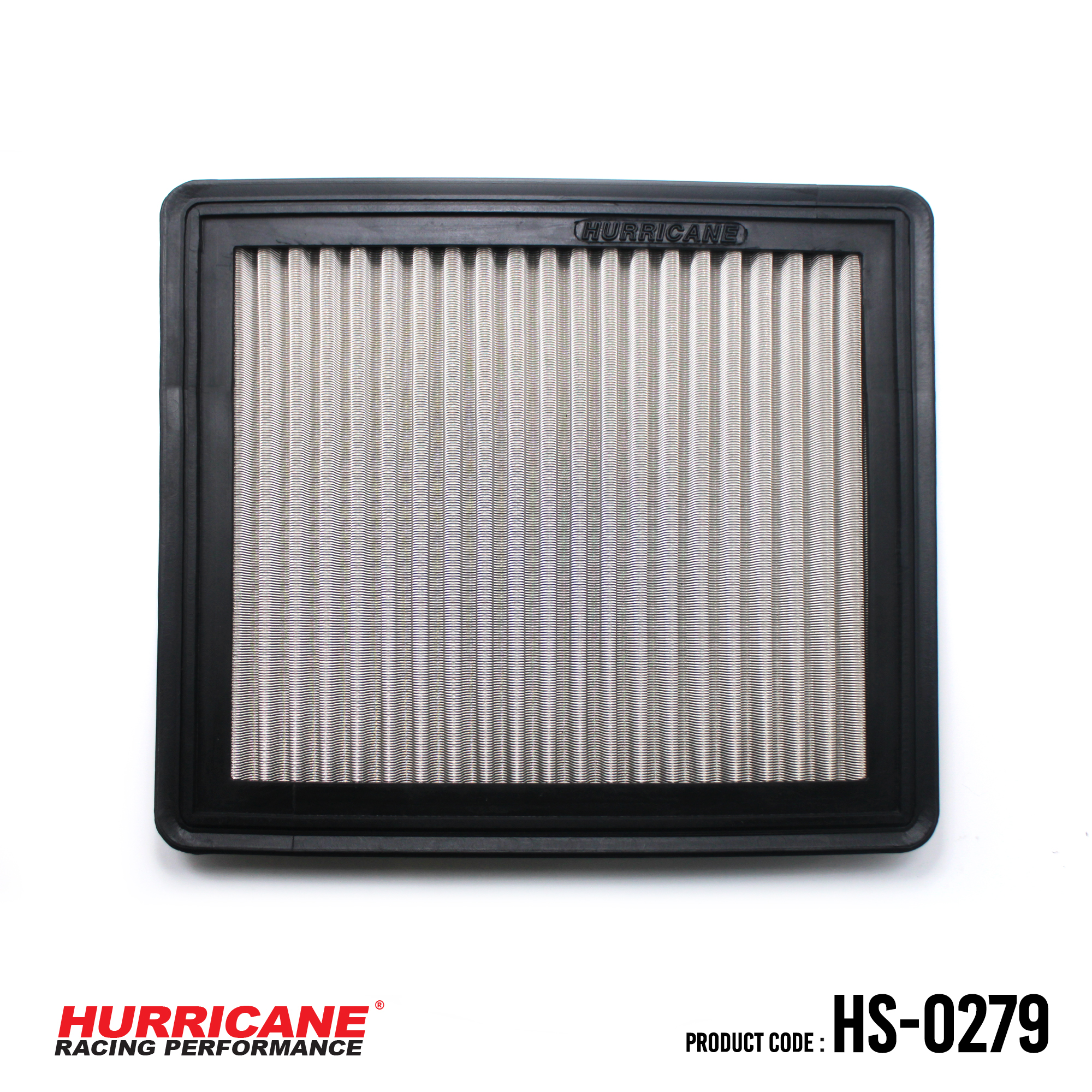 HURRICANE STAINLESS STEEL AIR FILTER FOR HS-0279 Mitsubishi
