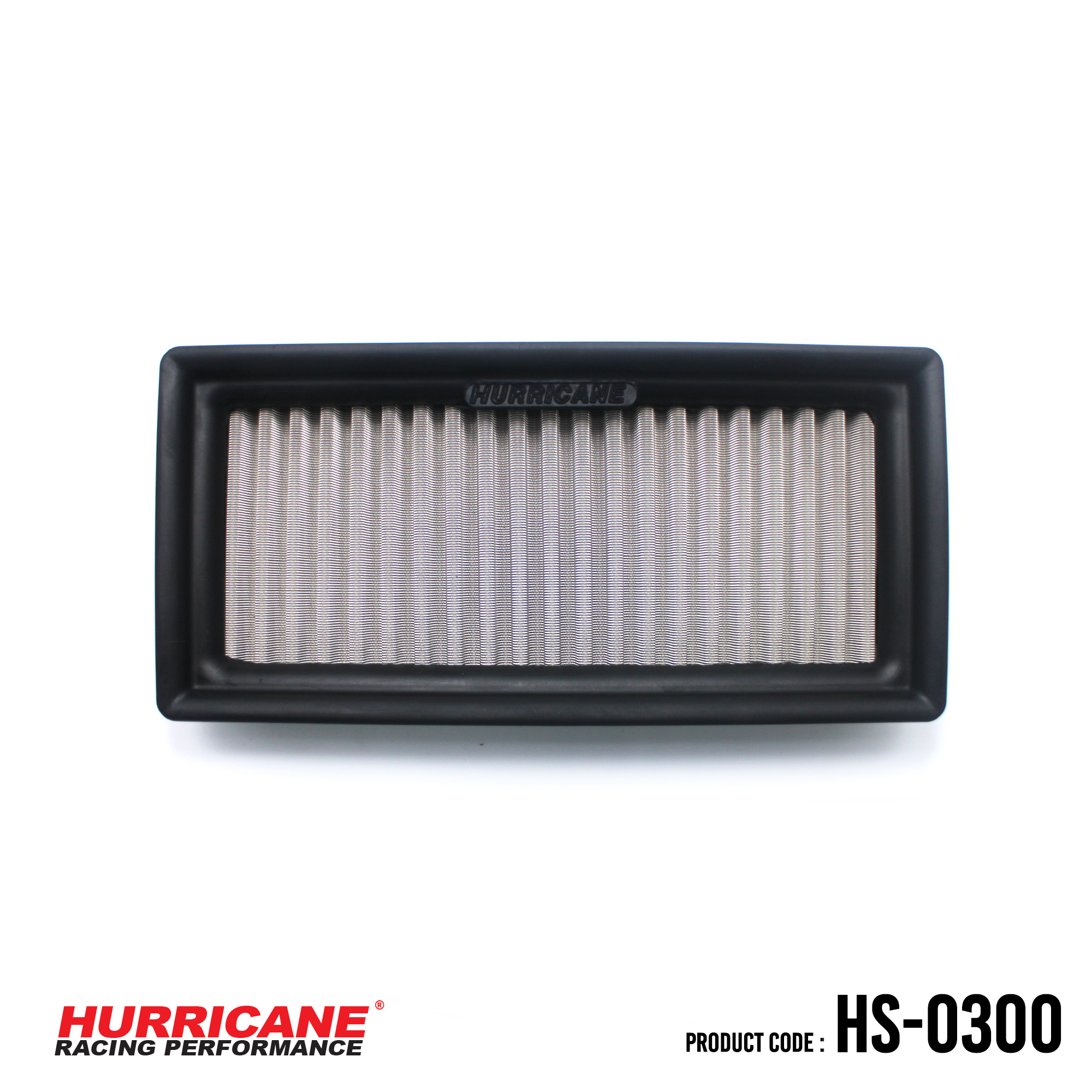 HURRICANE STAINLESS STEEL AIR FILTER FOR HS-0300 MitsubishiToyota