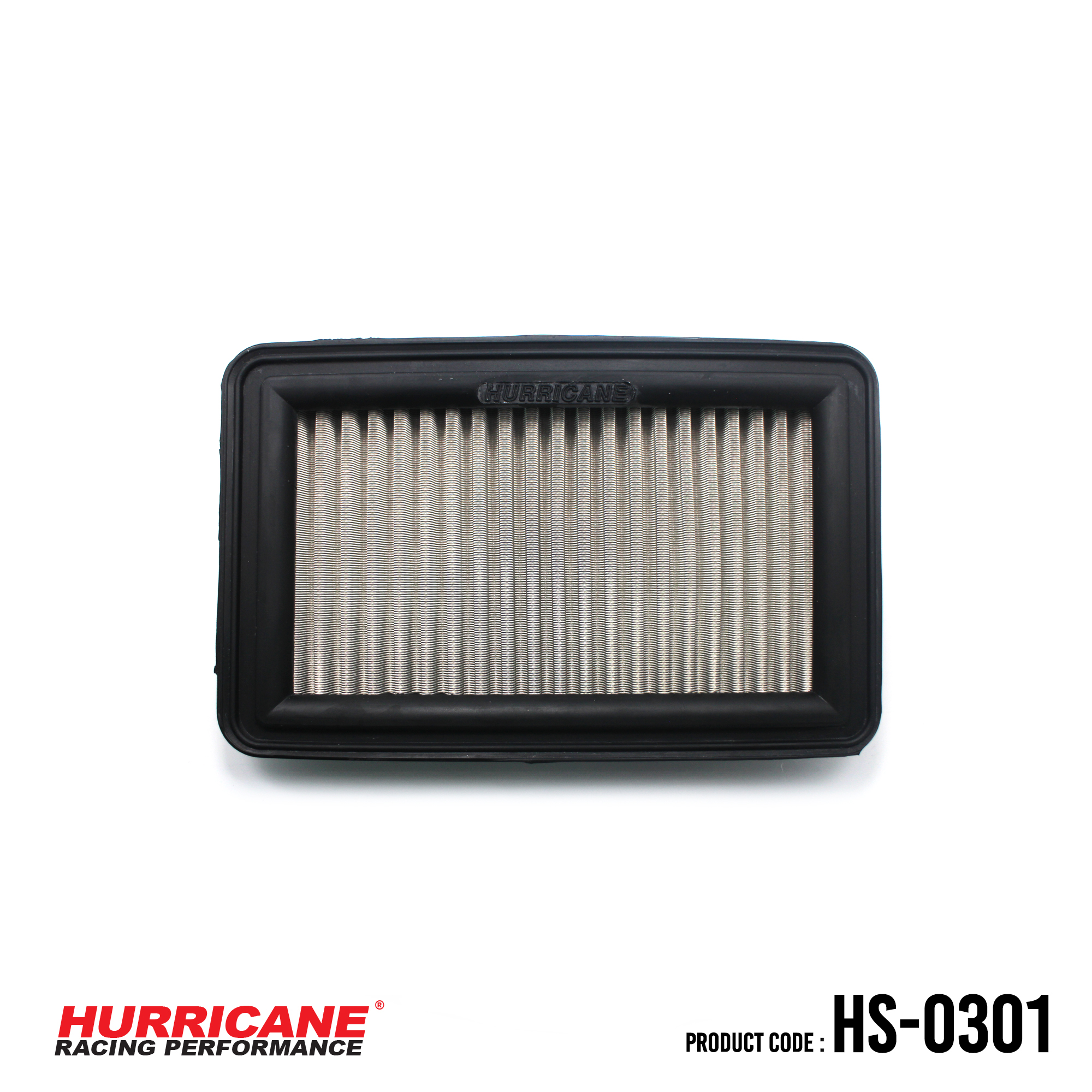 HURRICANE STAINLESS STEEL AIR FILTER FOR HS-0301 Suzuki
