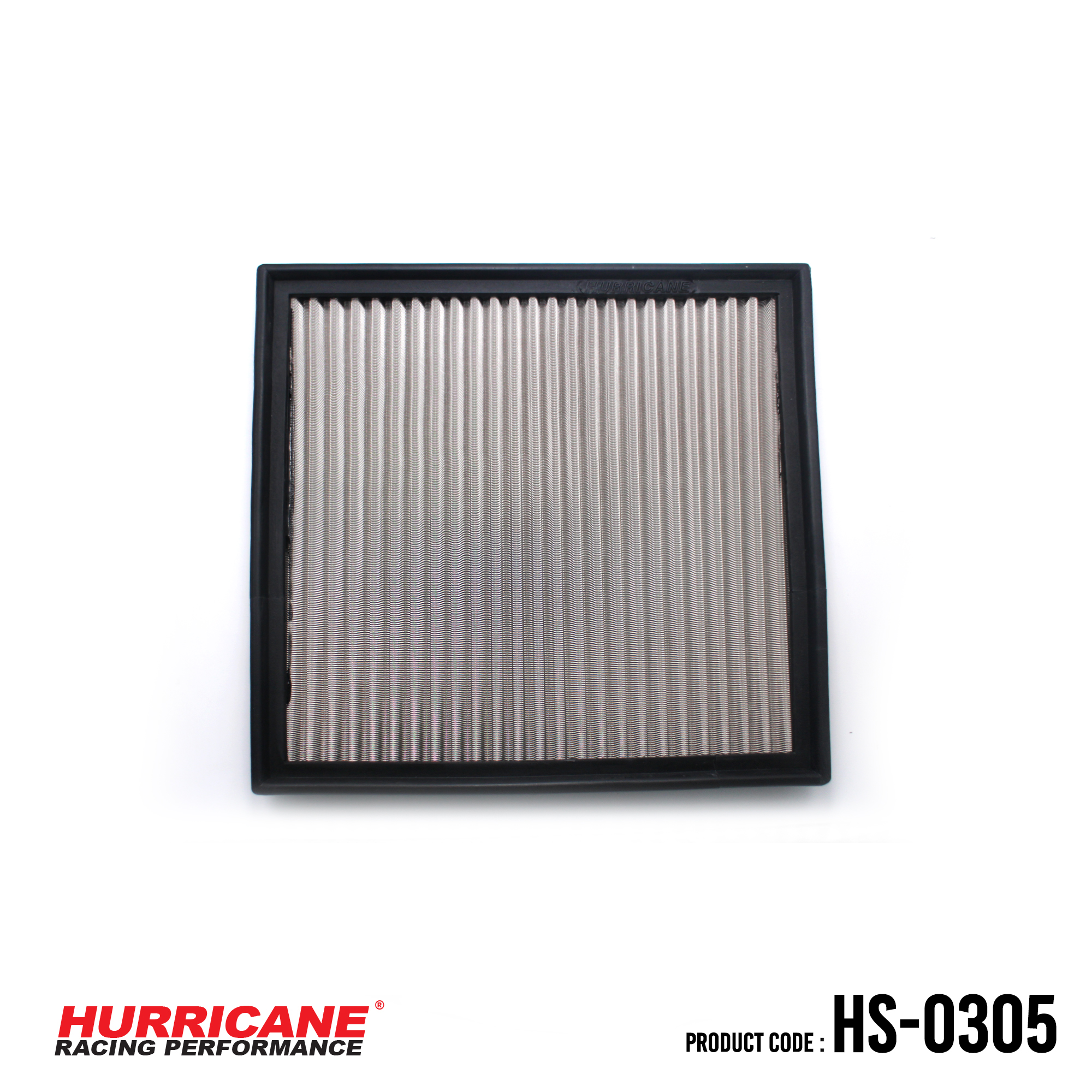 HURRICANE STAINLESS STEEL AIR FILTER FOR HS-0305 BuickChevroletOpelVauxhall
