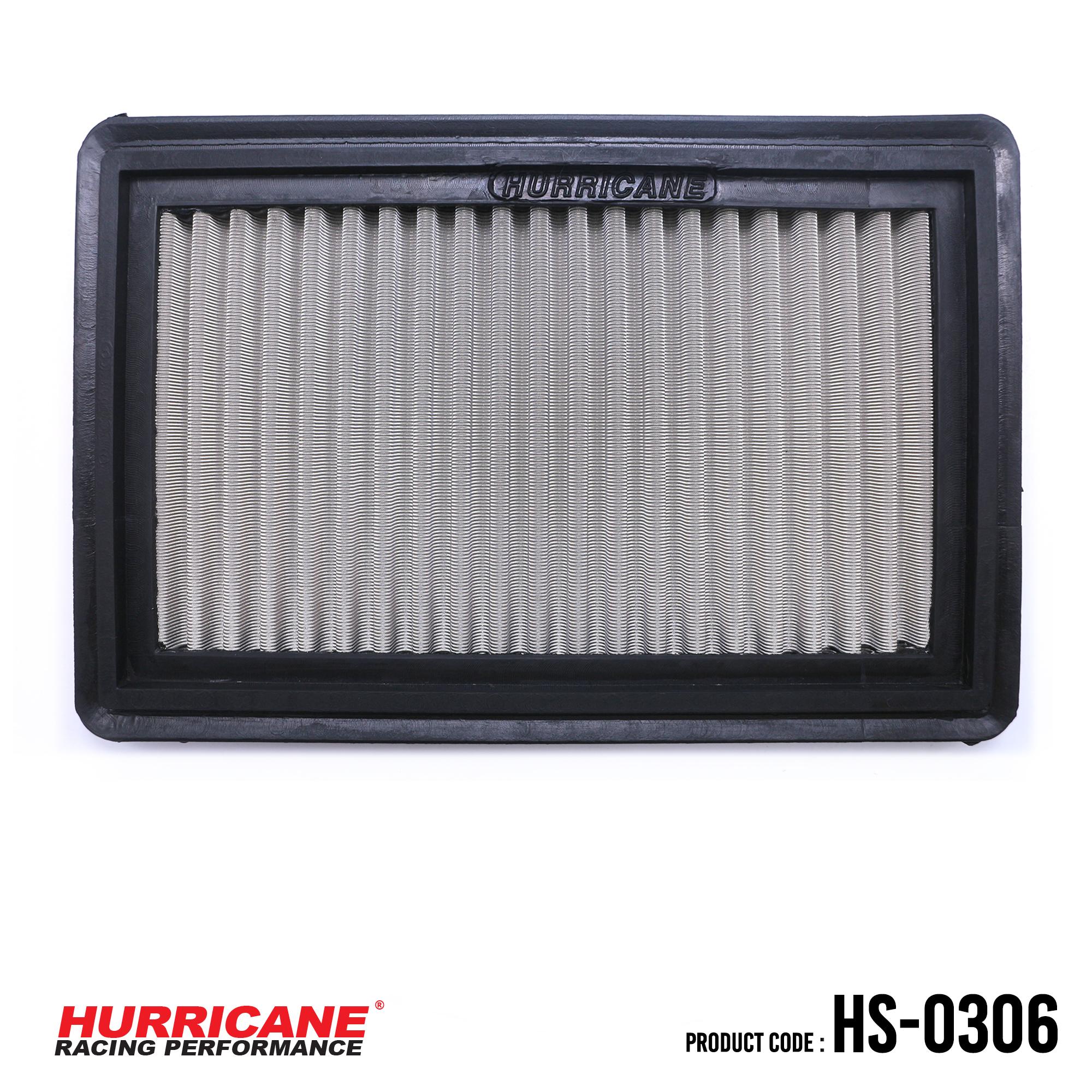 HURRICANE STAINLESS STEEL AIR FILTER FOR HS-0306 Honda