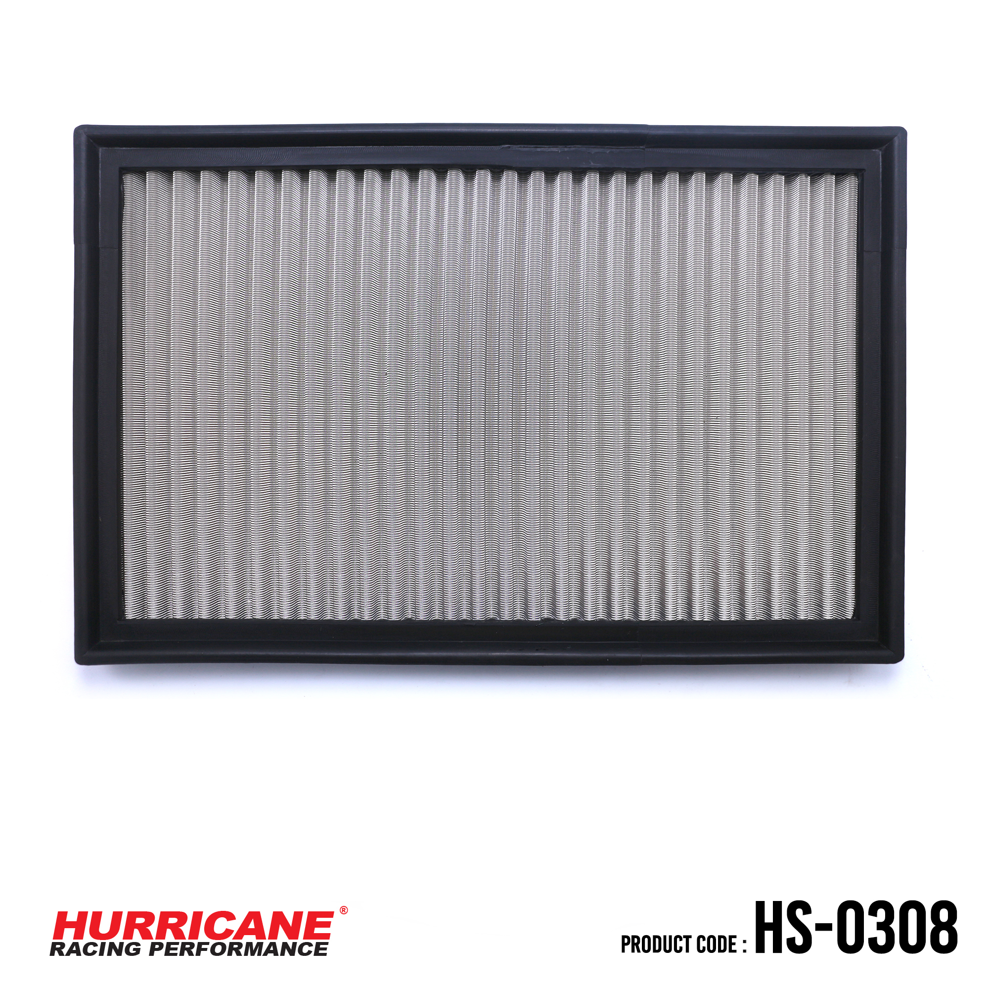 HURRICANE STAINLESS STEEL AIR FILTER FOR HS-0308 Kia