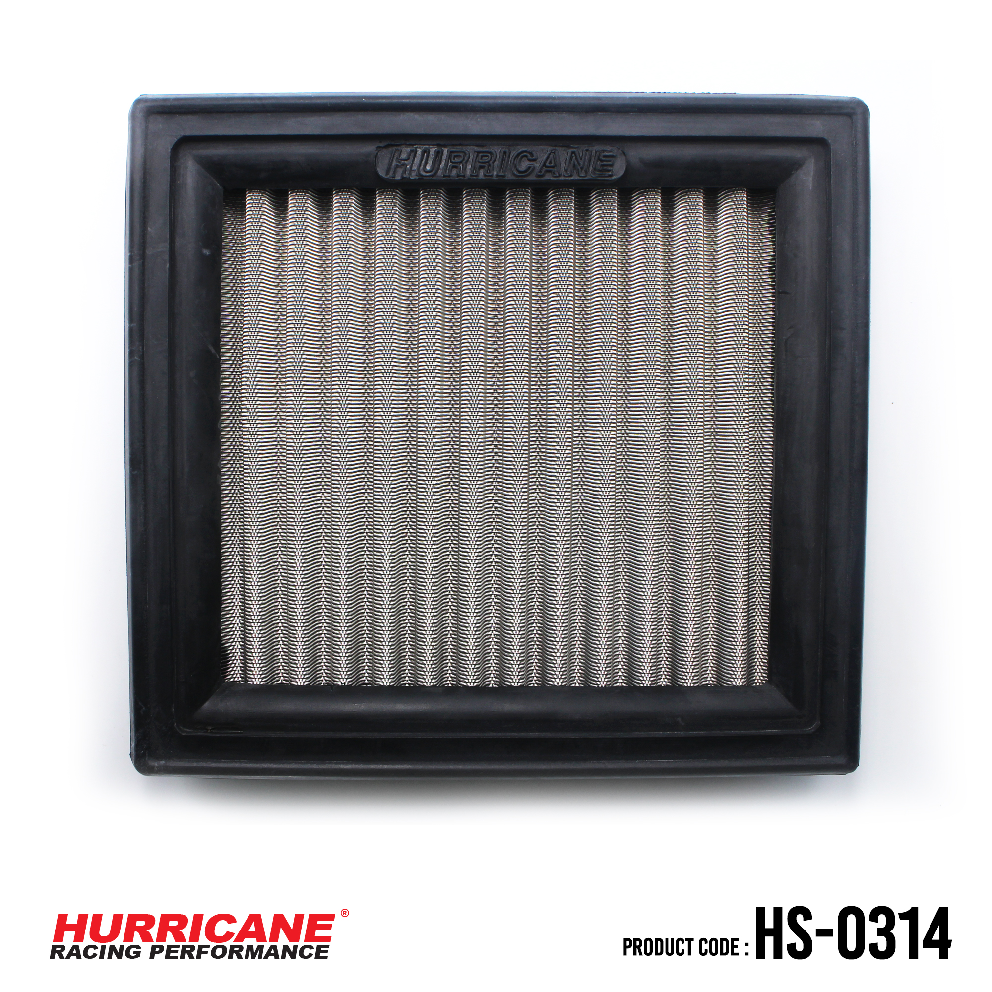 HURRICANE STAINLESS STEEL AIR FILTER FOR HS-0314 Nissan