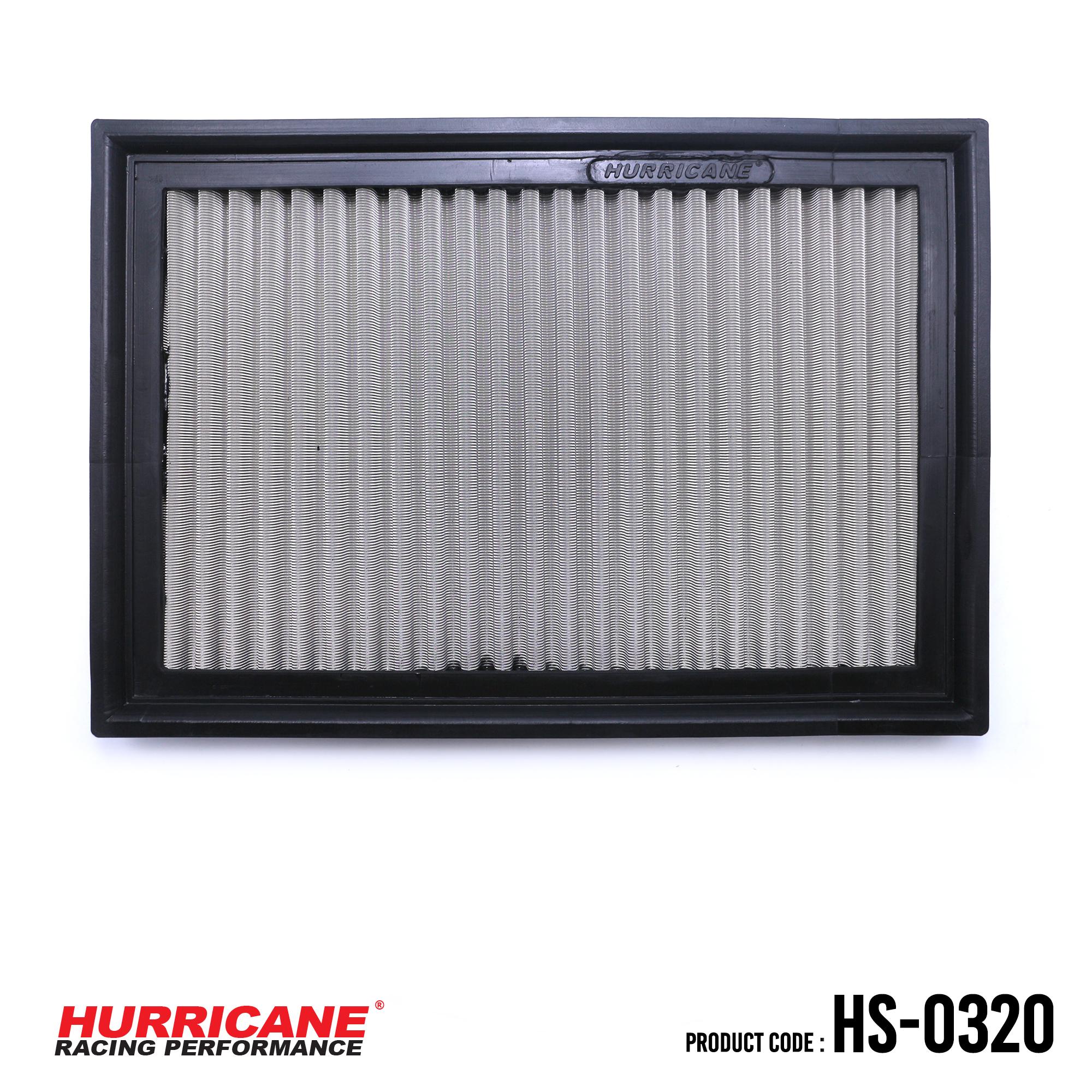 HURRICANE STAINLESS STEEL AIR FILTER FOR HS-0320 LexusToyota