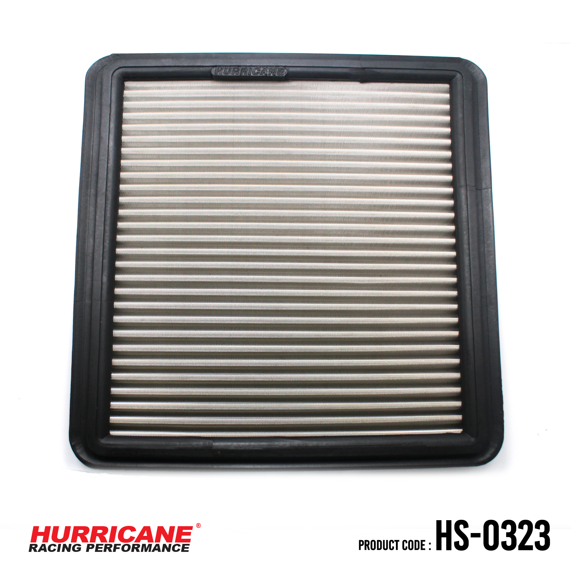 HURRICANE STAINLESS STEEL AIR FILTER FOR HS-0323  Toyota
