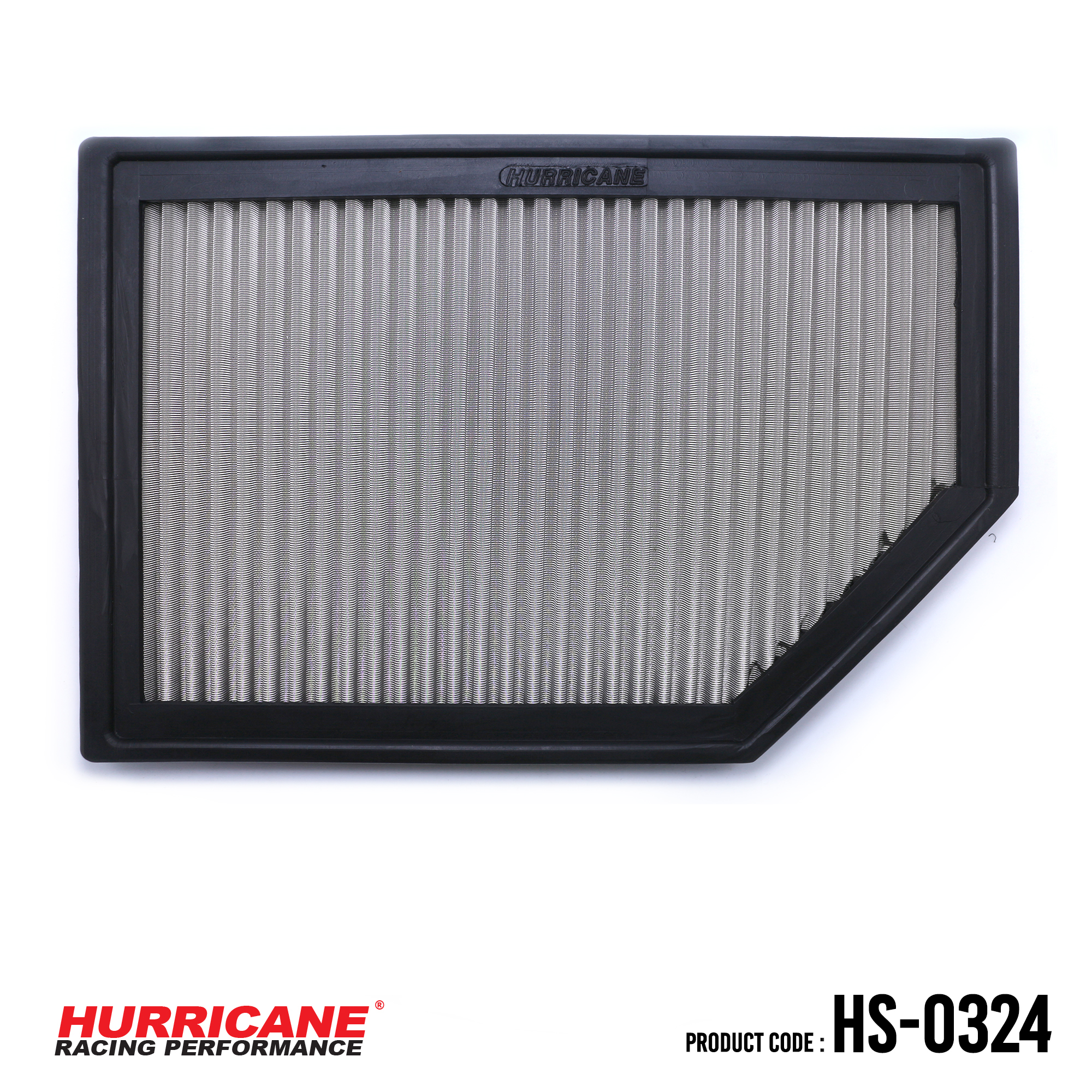 HURRICANE STAINLESS STEEL AIR FILTER FOR HS-0324 Volvo