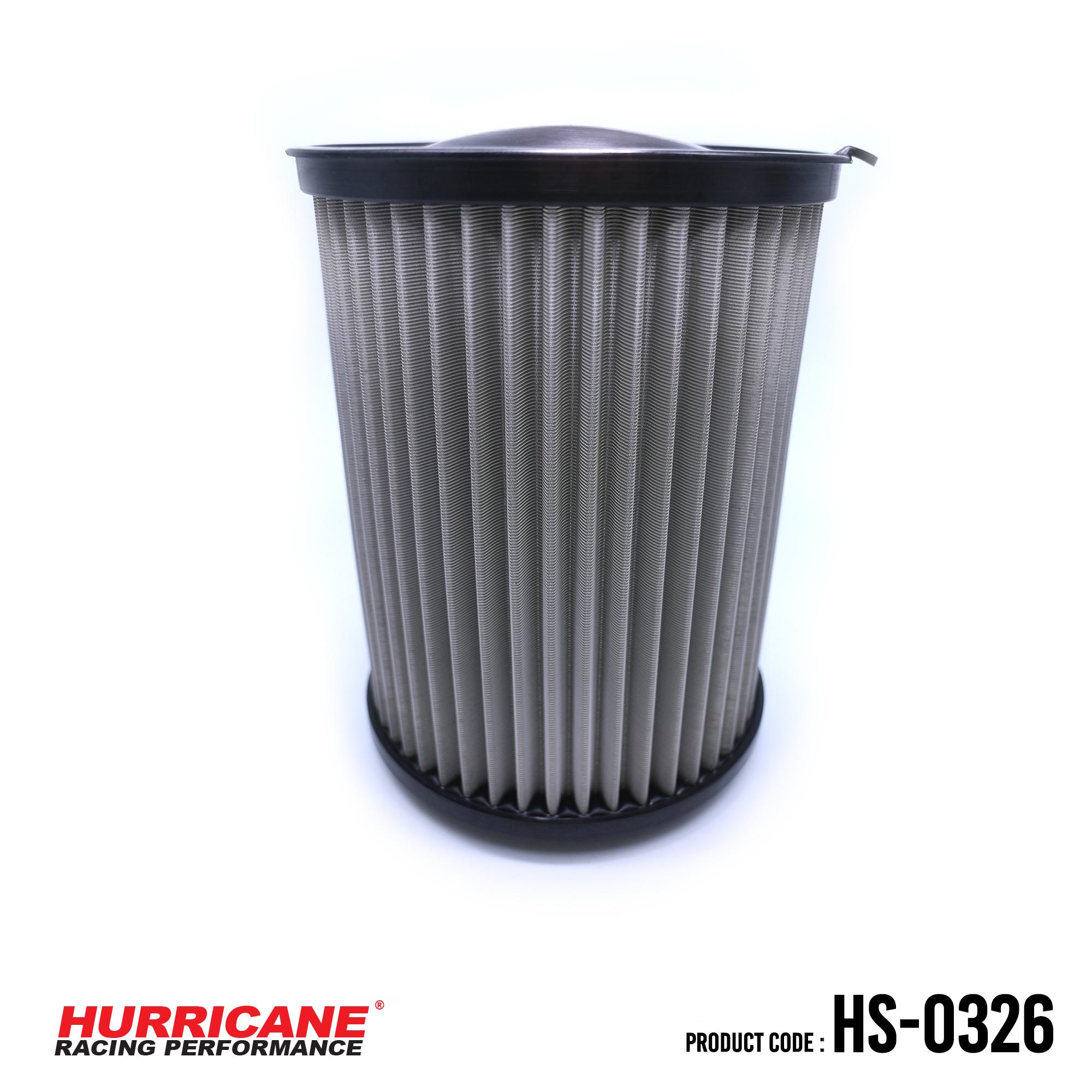 HURRICANE STAINLESS STEEL AIR FILTER FOR HS-0326 FordLincoinVolvo