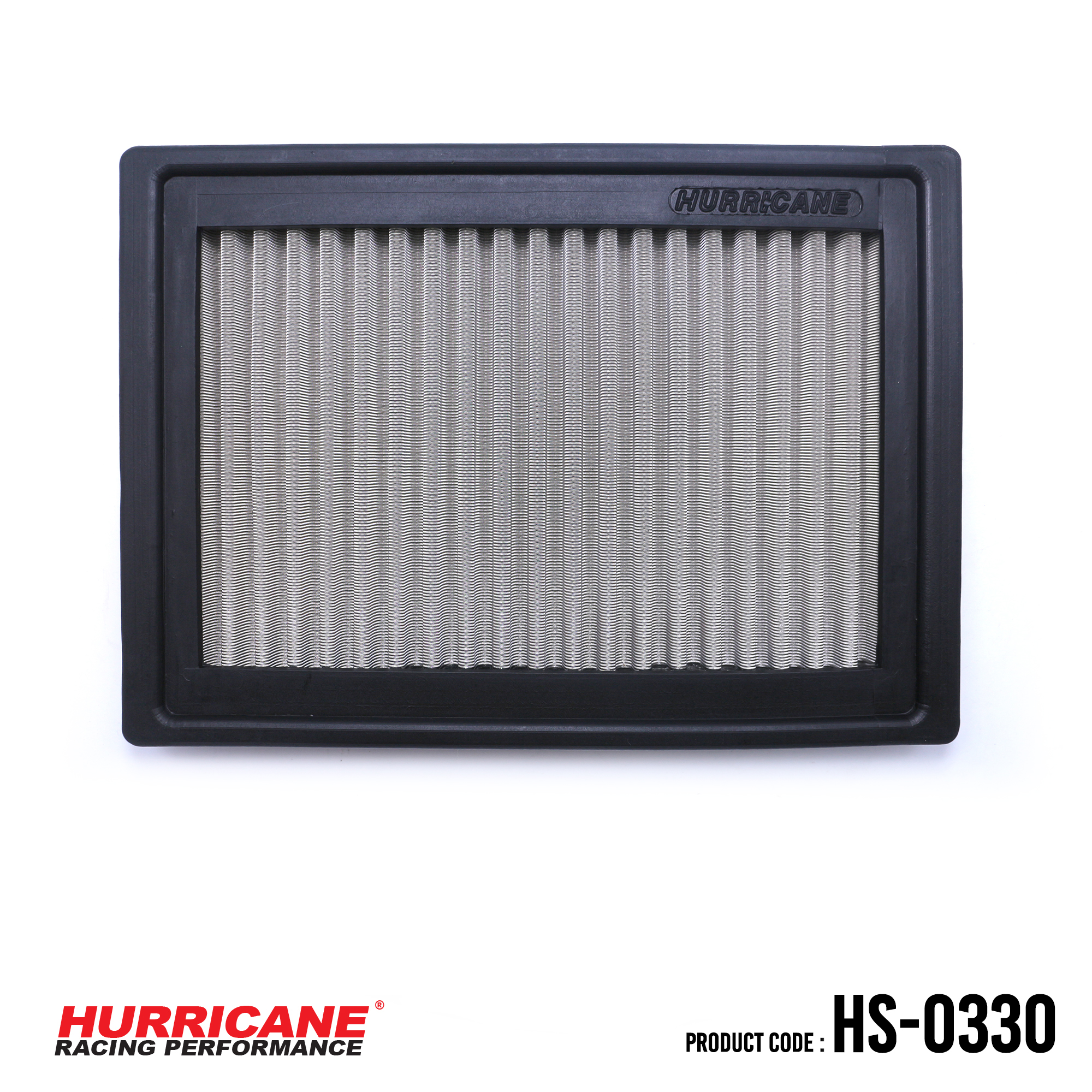 HURRICANE STAINLESS STEEL AIR FILTER FOR HS-0330 Chevrolet