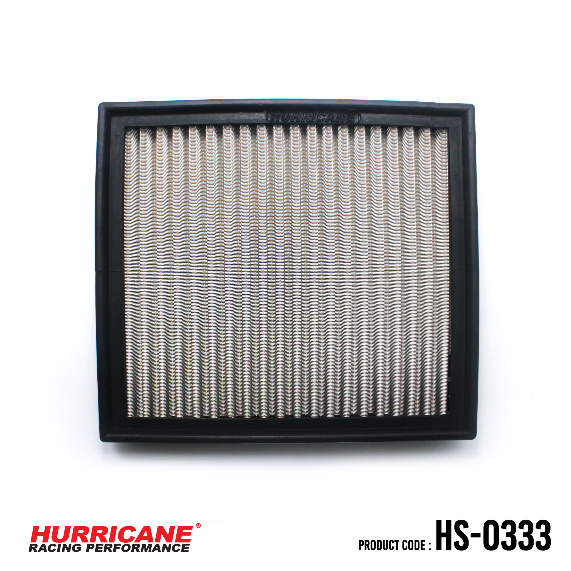 HURRICANE STAINLESS STEEL AIR FILTER FOR HS-0333 BMW