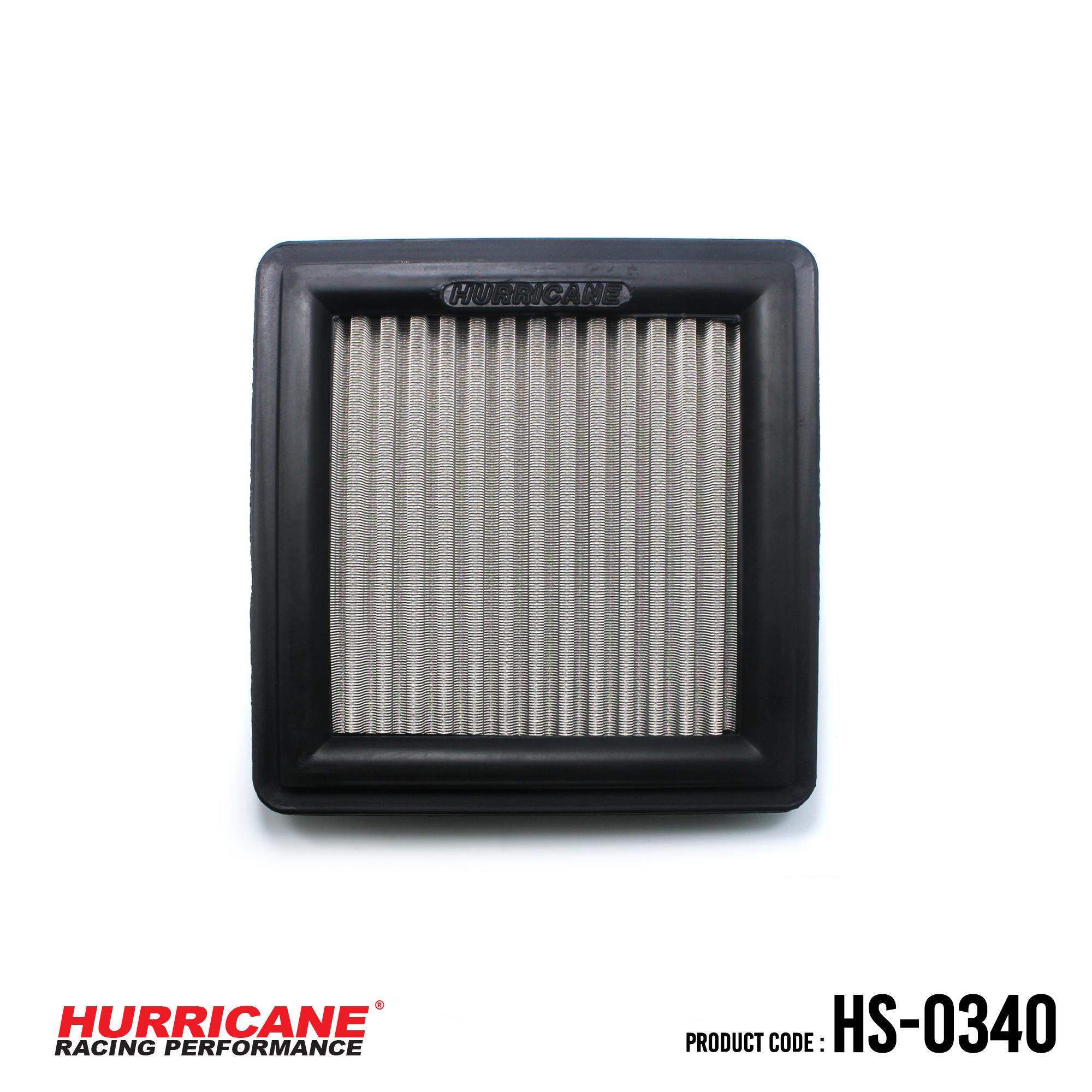 HURRICANE STAINLESS STEEL AIR FILTER FOR HS-0340 Honda